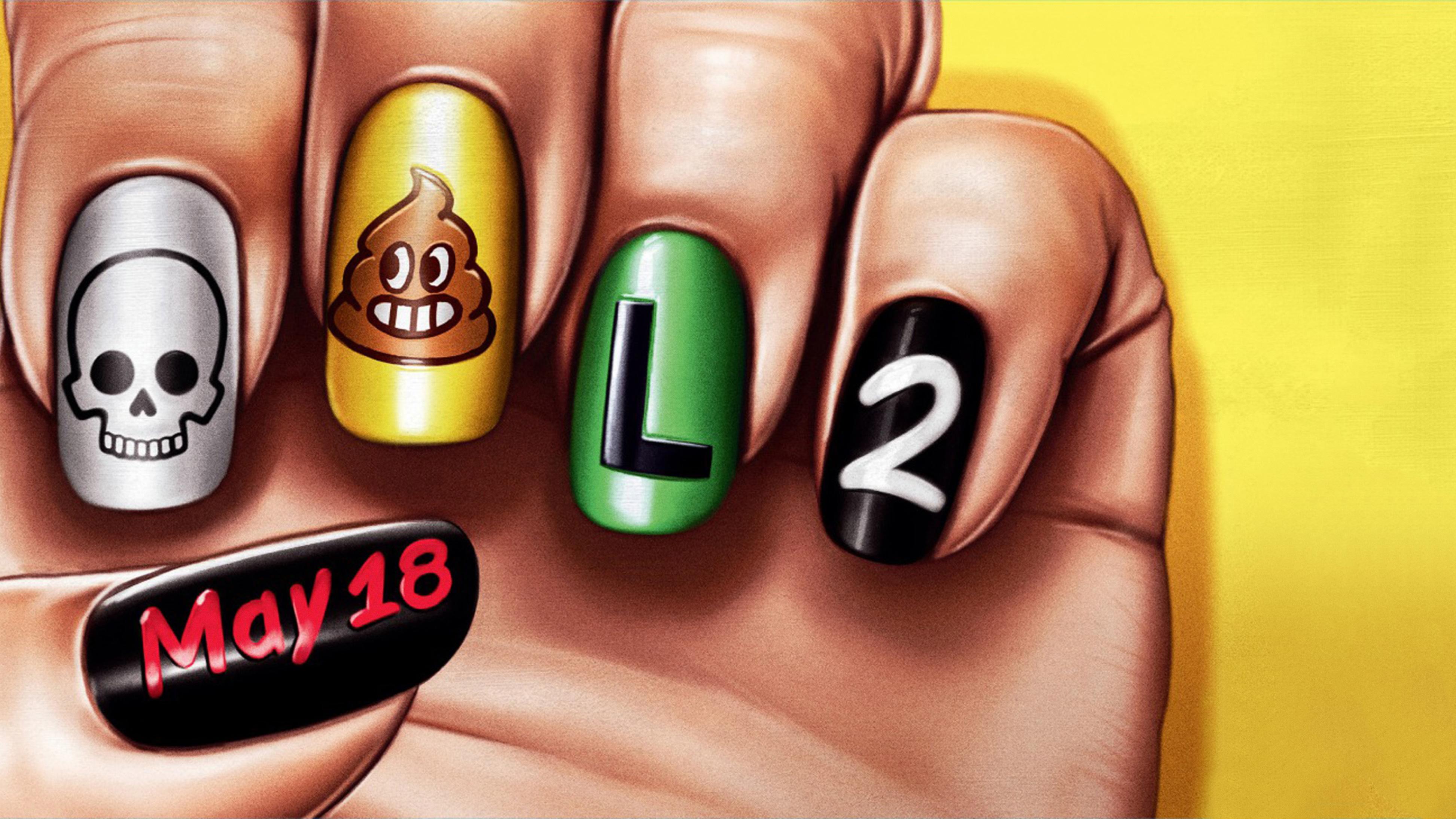 4k Deadpool 2 Funny Nail Arts Poster, HD Movies, 4k Wallpapers ...