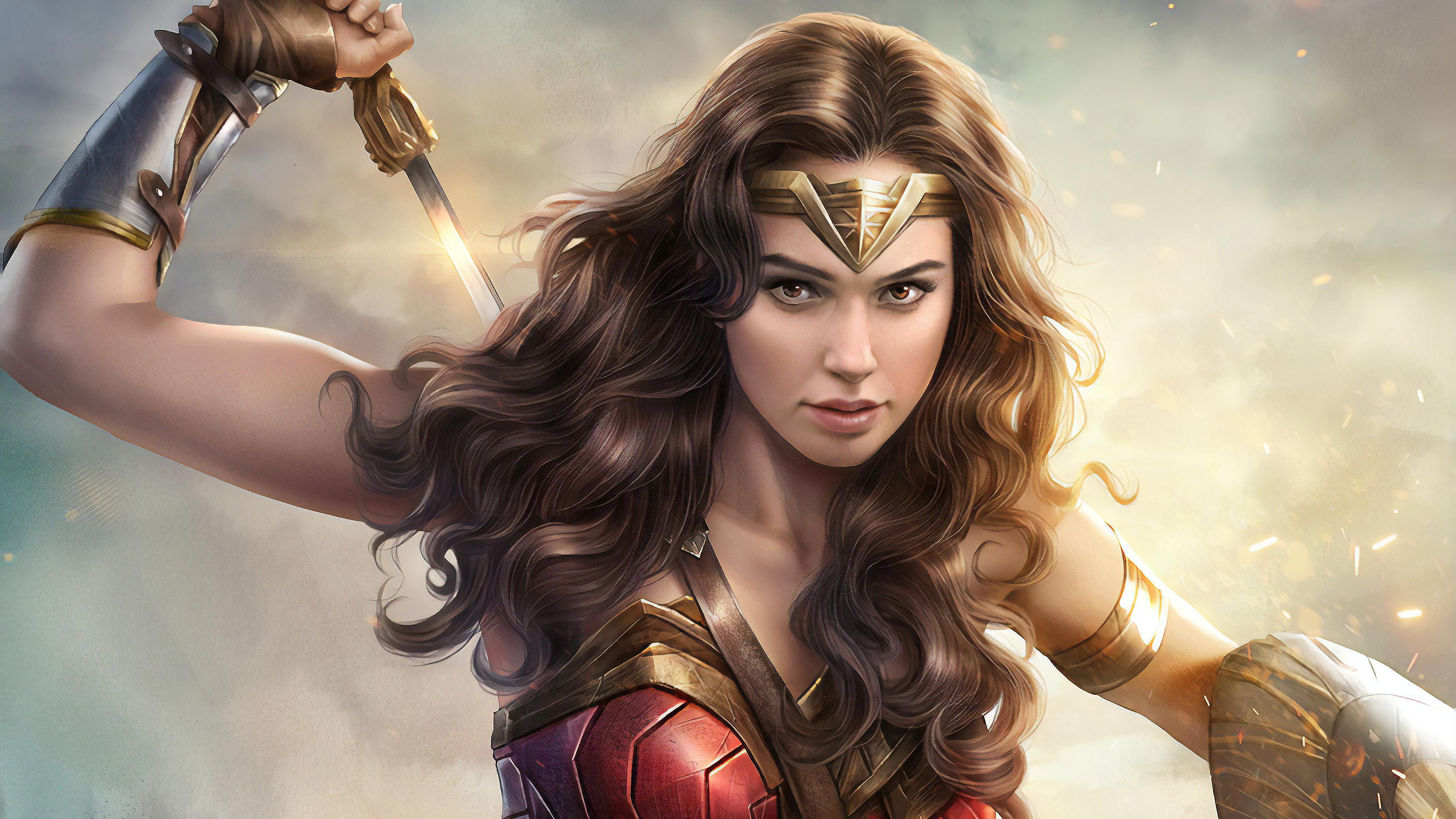 4k Gal Gadot Wonder Woman Hd Superheroes 4k Wallpapers