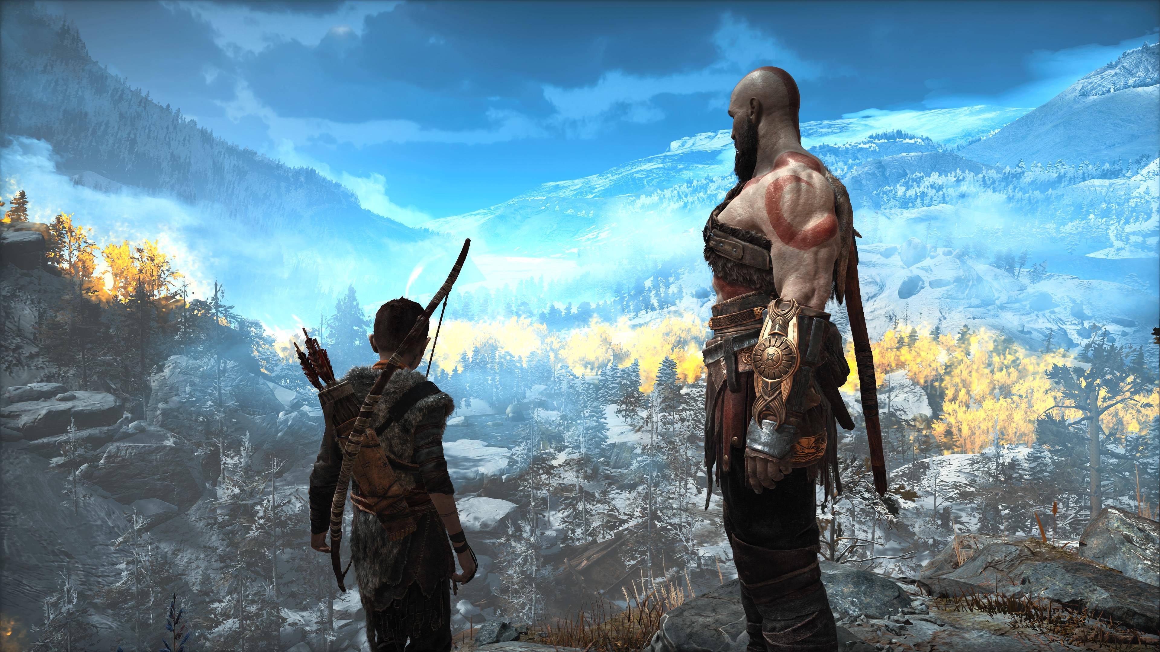 4k God Of War 4 Hd Games 4k Wallpapers Images Backgrounds