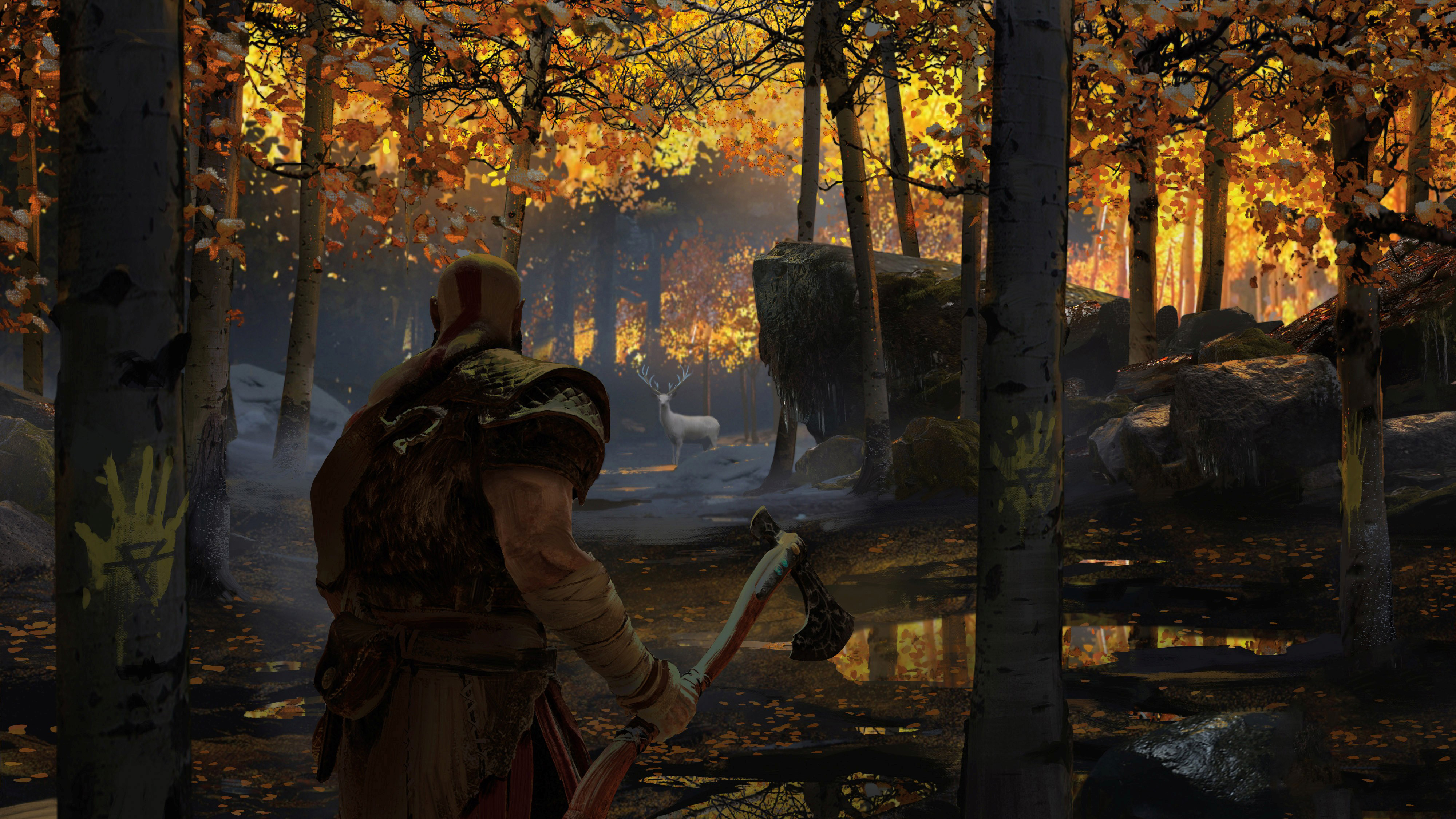 4k God Of War Concept Art, HD Games, 4k Wallpapers, Images ...