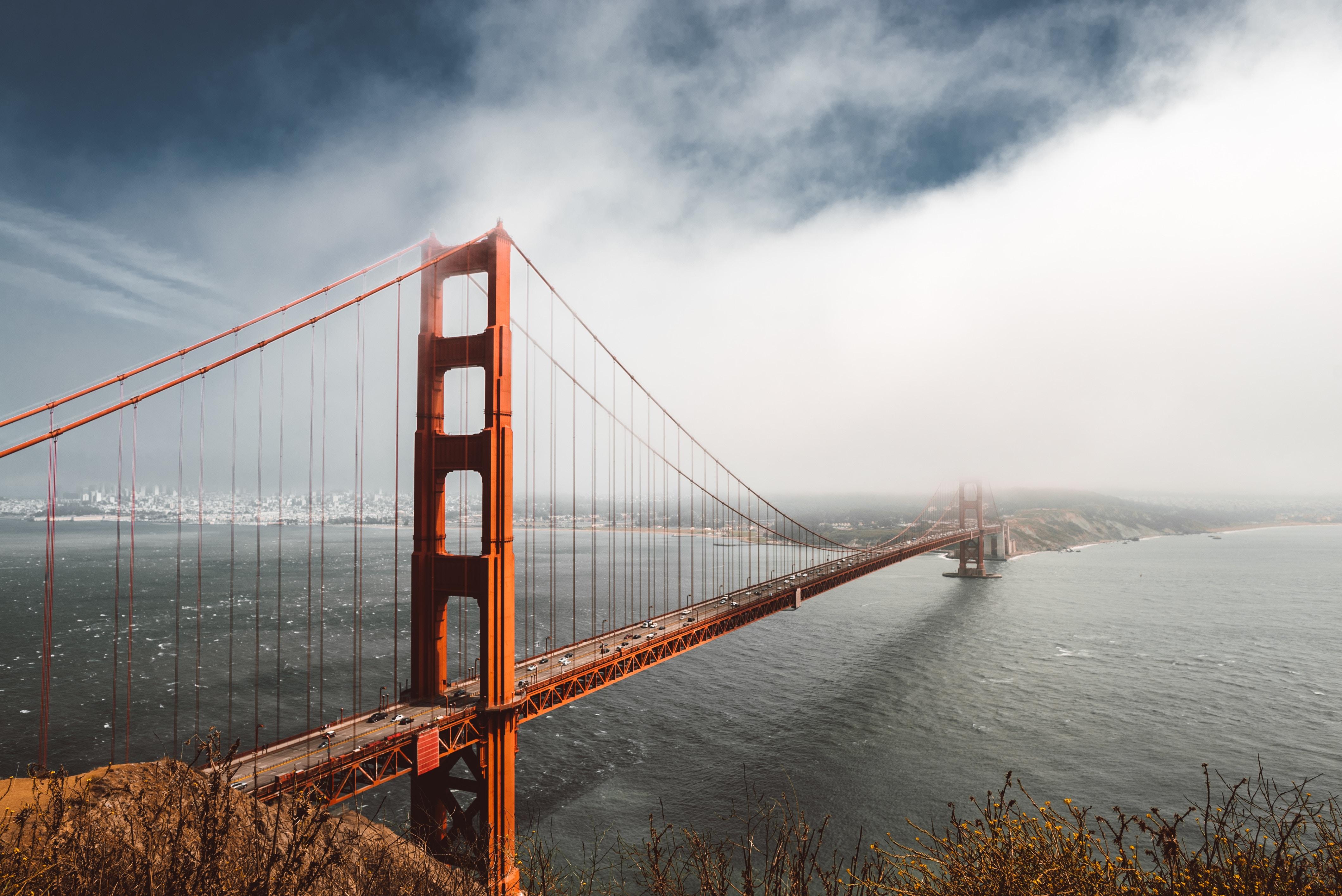 Golden Gate Bridge 4k: 4k Golden Gate Bridge, HD World, 4k Wallpapers, Images