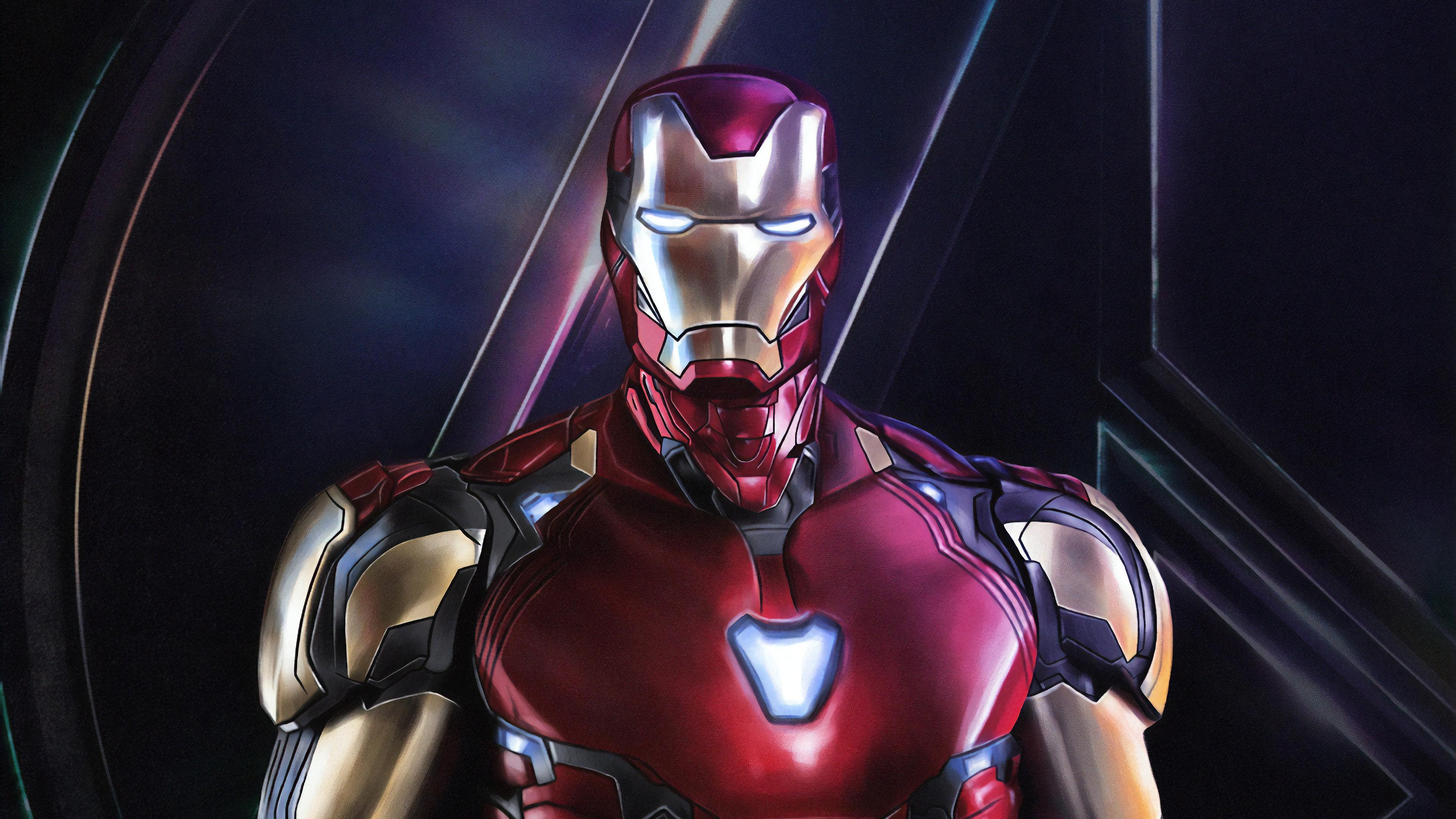 4k iron man avengers endgame hd superheroes 4k wallpapers images backgrounds photos and - Iron man wallpaper 4k ...