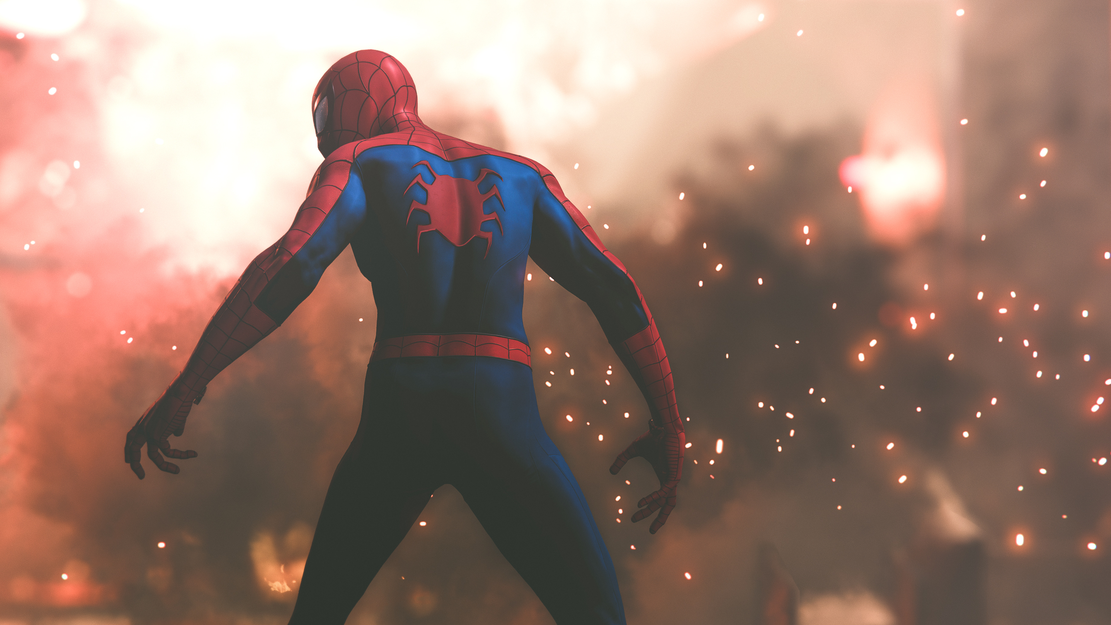 4k spiderman game, hd games, 4k wallpapers, images, backgrounds