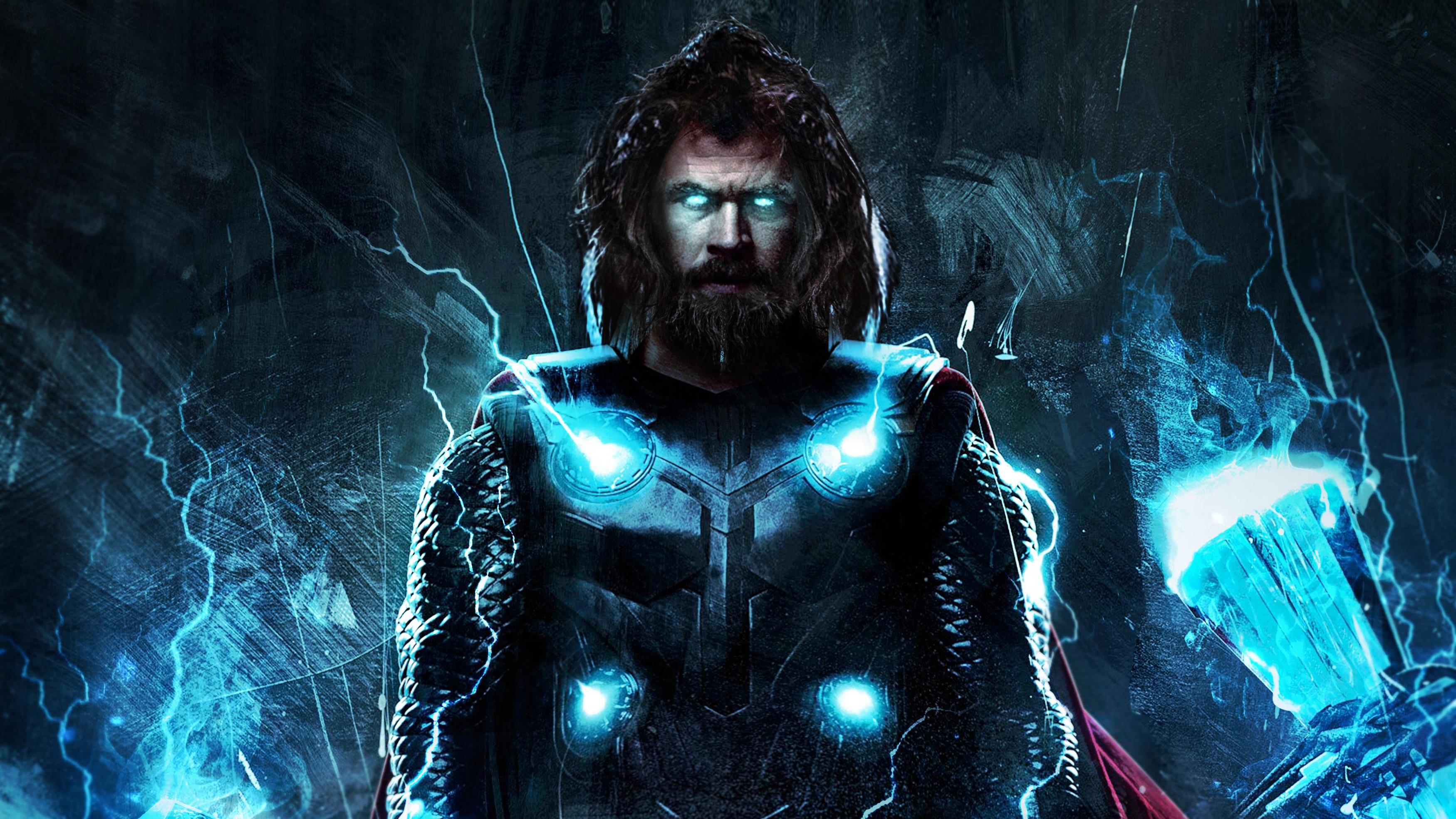 4k Thor In Avengers Endgame, HD Superheroes, 4k Wallpapers ...