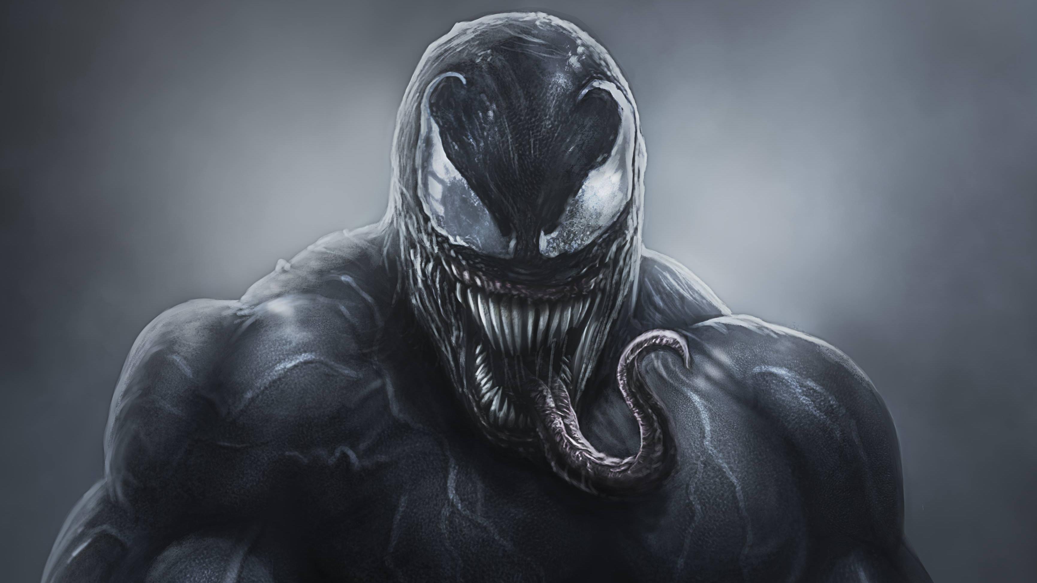 4k venom artwork 2018 hd superheroes 4k wallpapers - 4k wallpaper venom ...