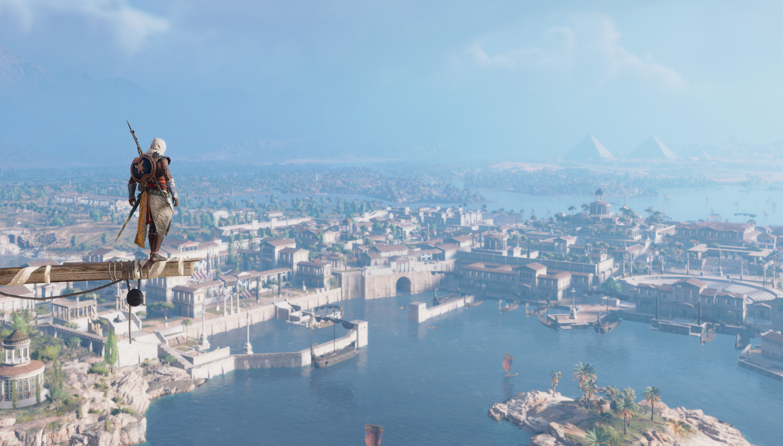5k Assassins Creed Origins 2018, HD Games, 4k Wallpapers