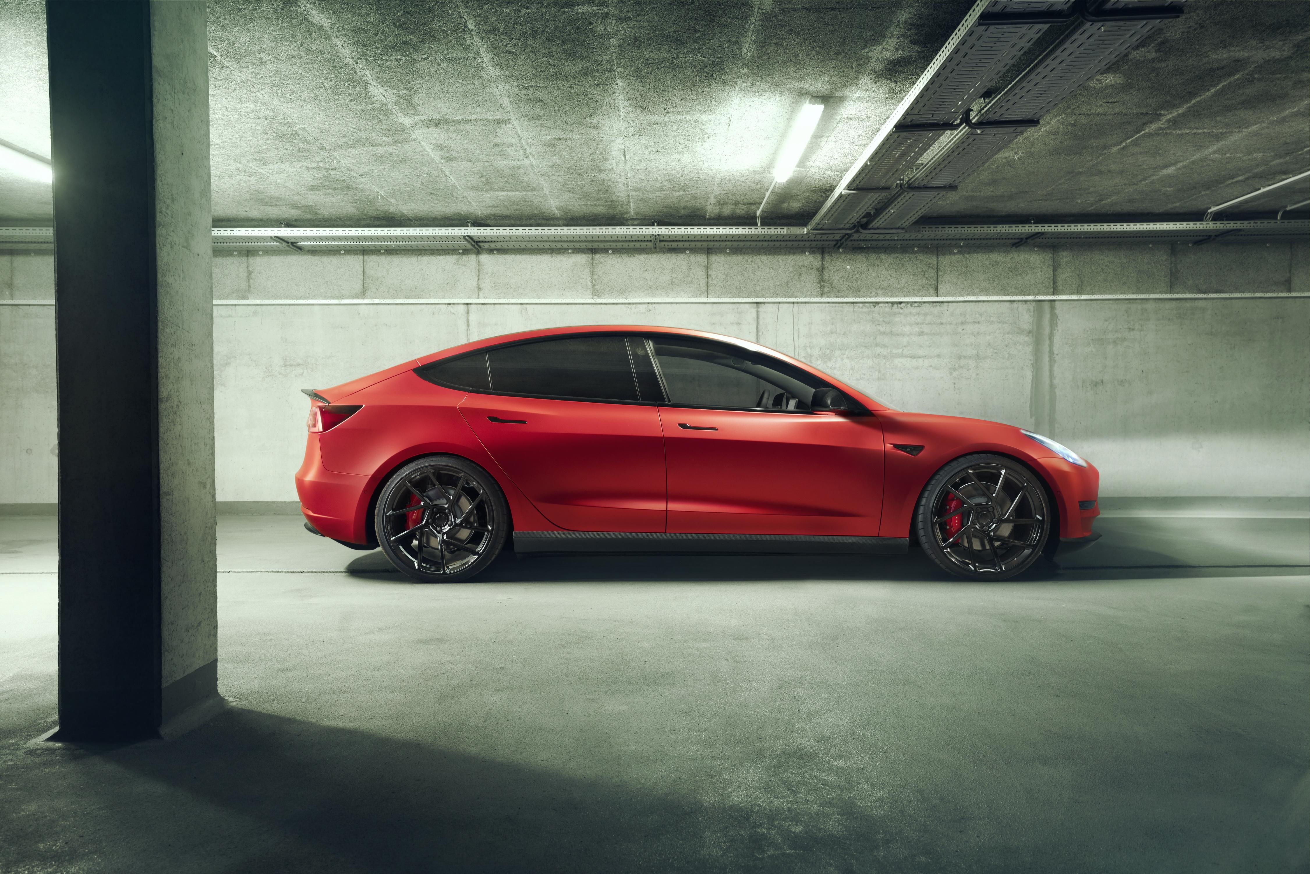 5k Novitec Tesla Model 3 2019 Hd Cars 4k Wallpapers
