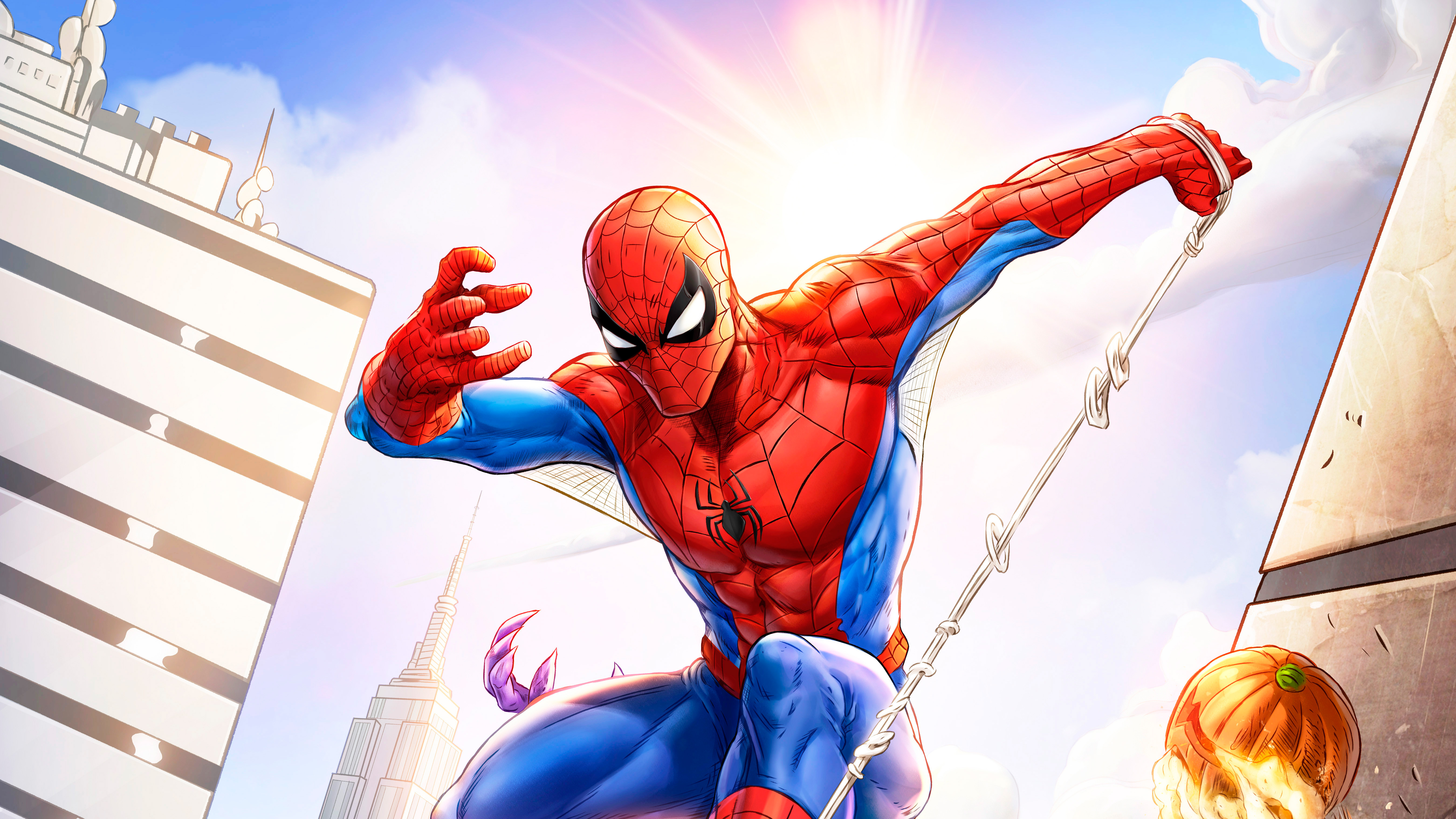 5k Spiderman 2018, HD Superheroes, 4k Wallpapers, Images, Backgrounds, Photos and Pictures