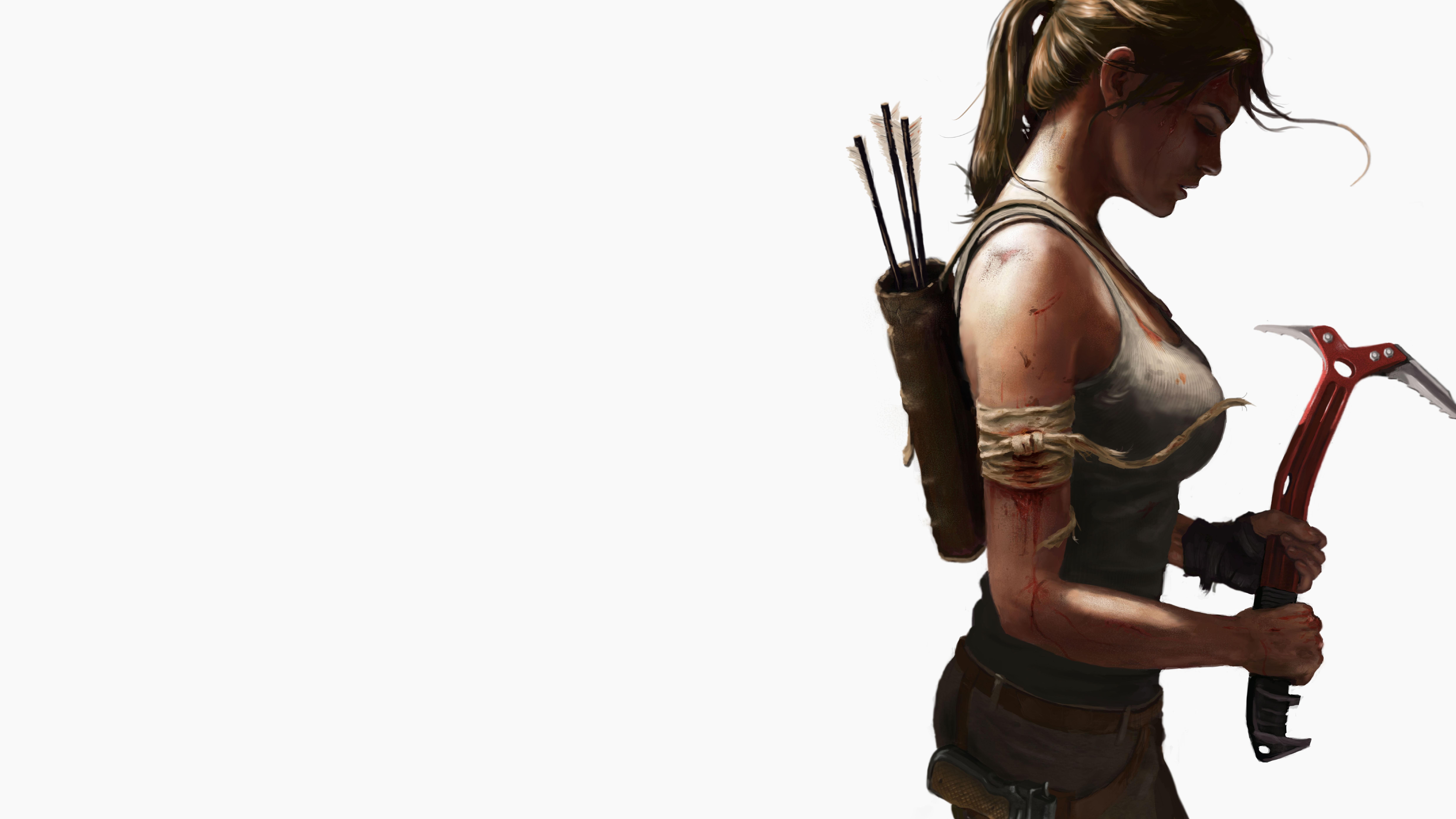 3840x2160 Lara Croft Tomb Raider Artwork 4k Hd 4k: 8k Tomb Raider Lara Croft, HD Games, 4k Wallpapers, Images
