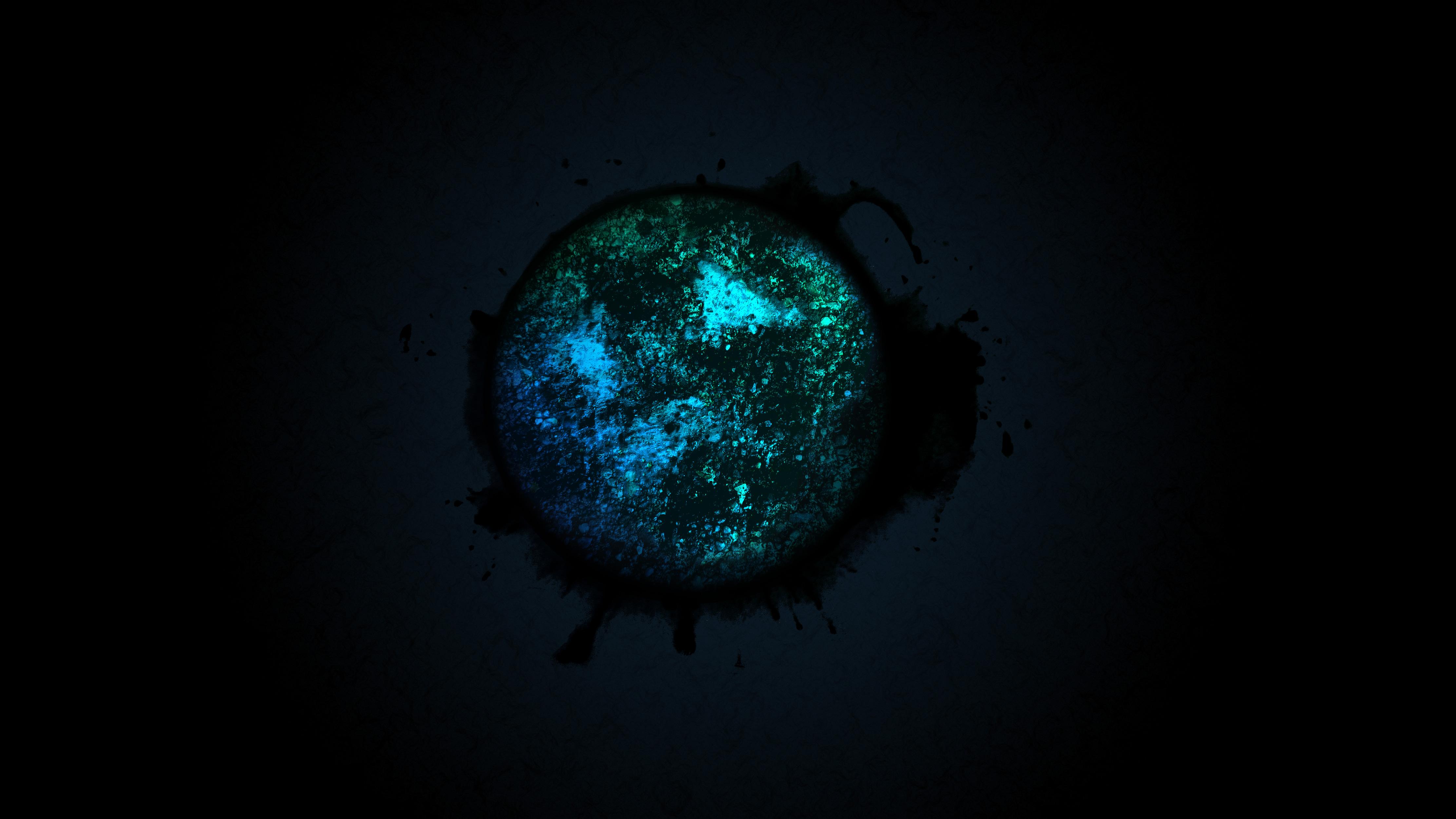 Wallpaper Black hole Universe Stars Black HD Space
