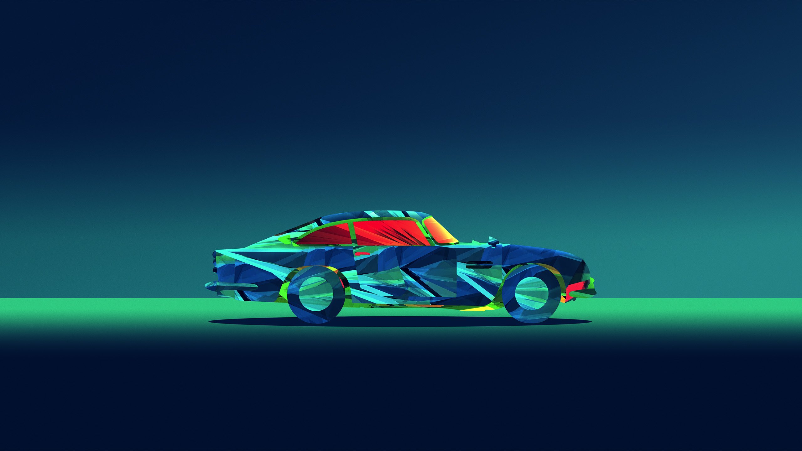 Abstract Car Facets Justin Maller