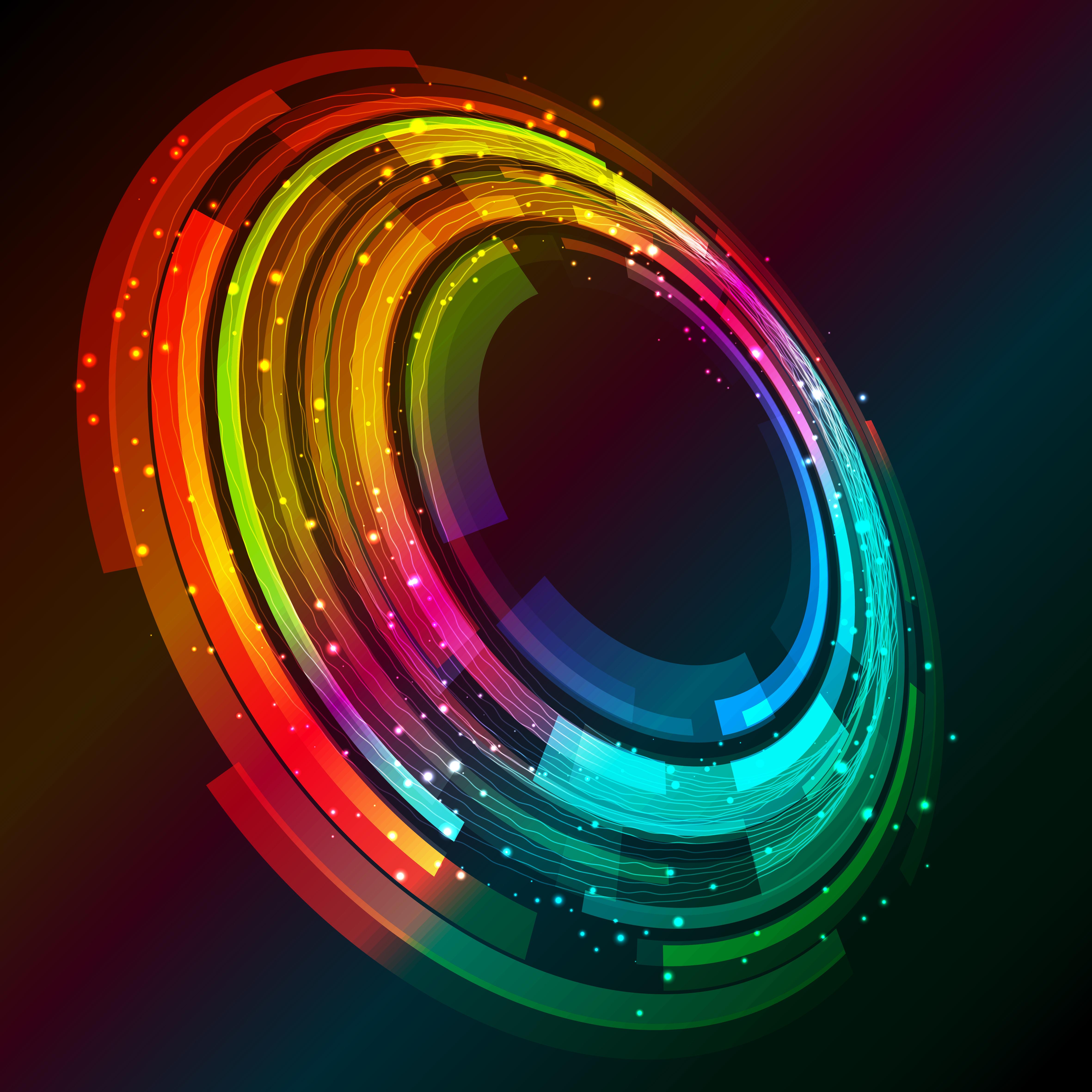 Abstract Circle Rotation 4k, HD Abstract, 4k Wallpapers ...