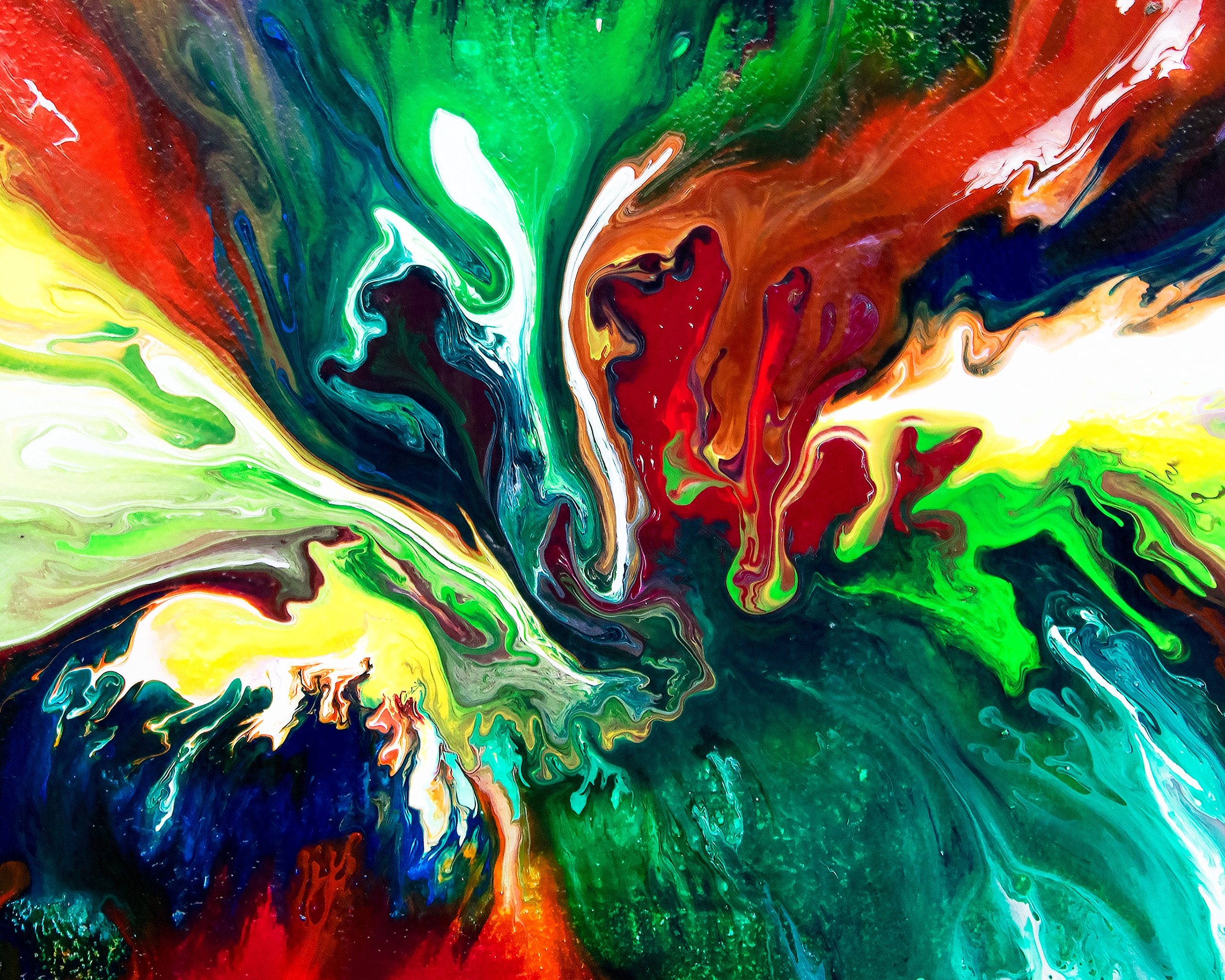 Abstract Paint Swirl, HD Abstract, 4k Wallpapers, Images ...