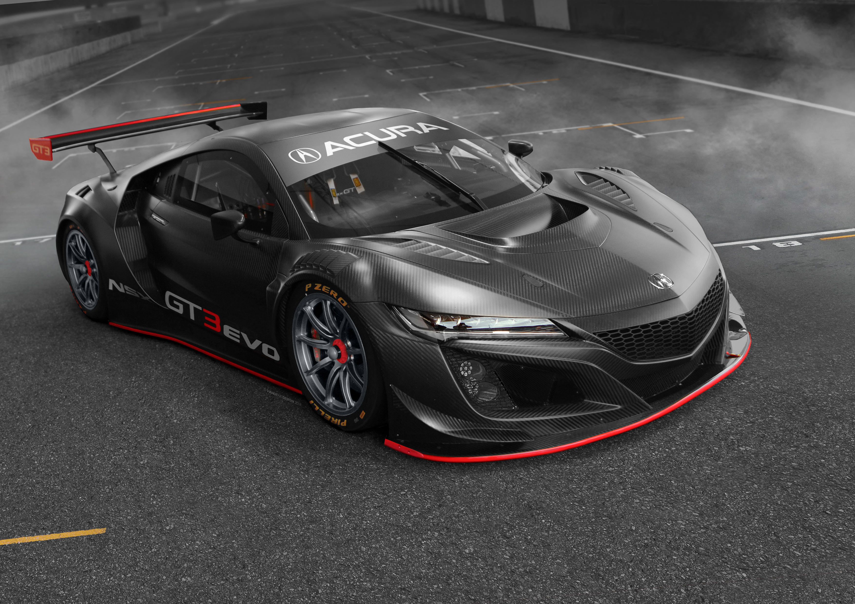 Acura Nsx Gt3 Evo 2019 Hd Cars 4k Wallpapers Images Backgrounds