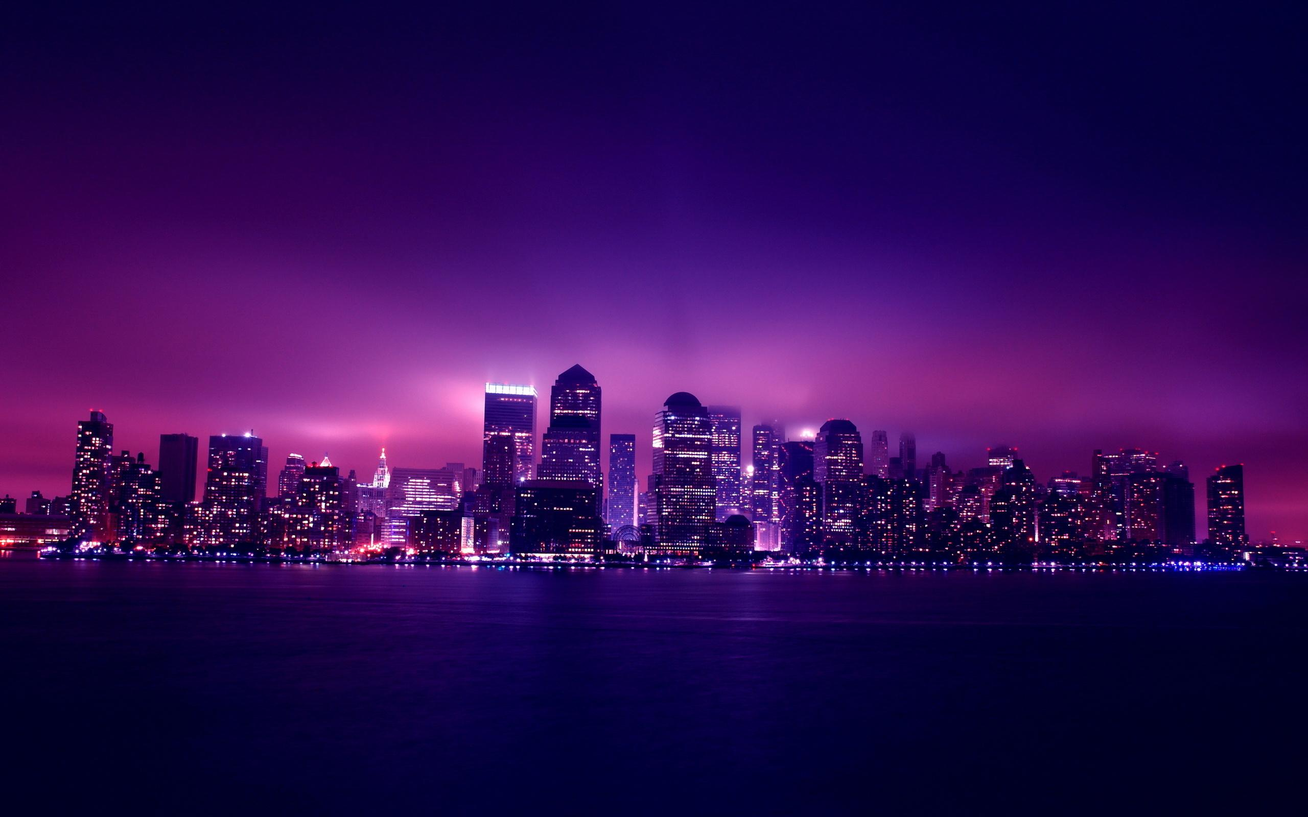 2048x1152 Aesthetic City Night Lights 2048x1152 Resolution ...