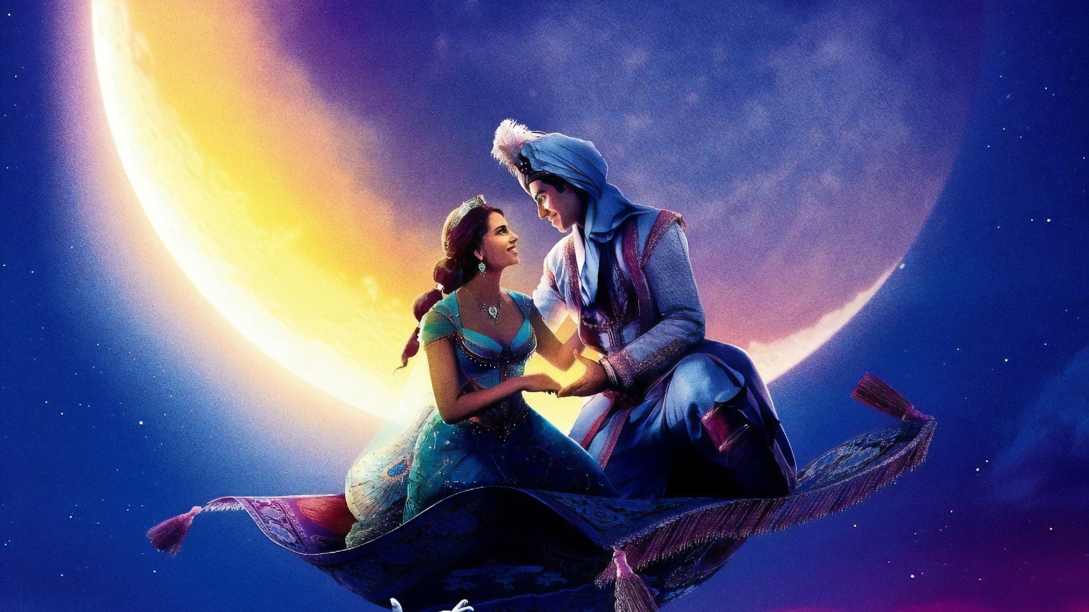 320x240 Aladdin 2019 Movie Poster Apple Iphone Ipod Touch