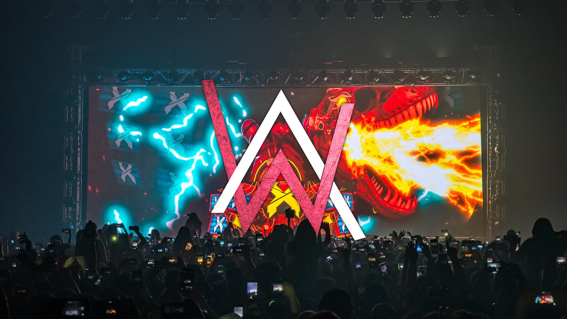 Alan Walker Concert Logo Hd Music 4k Wallpapers Images