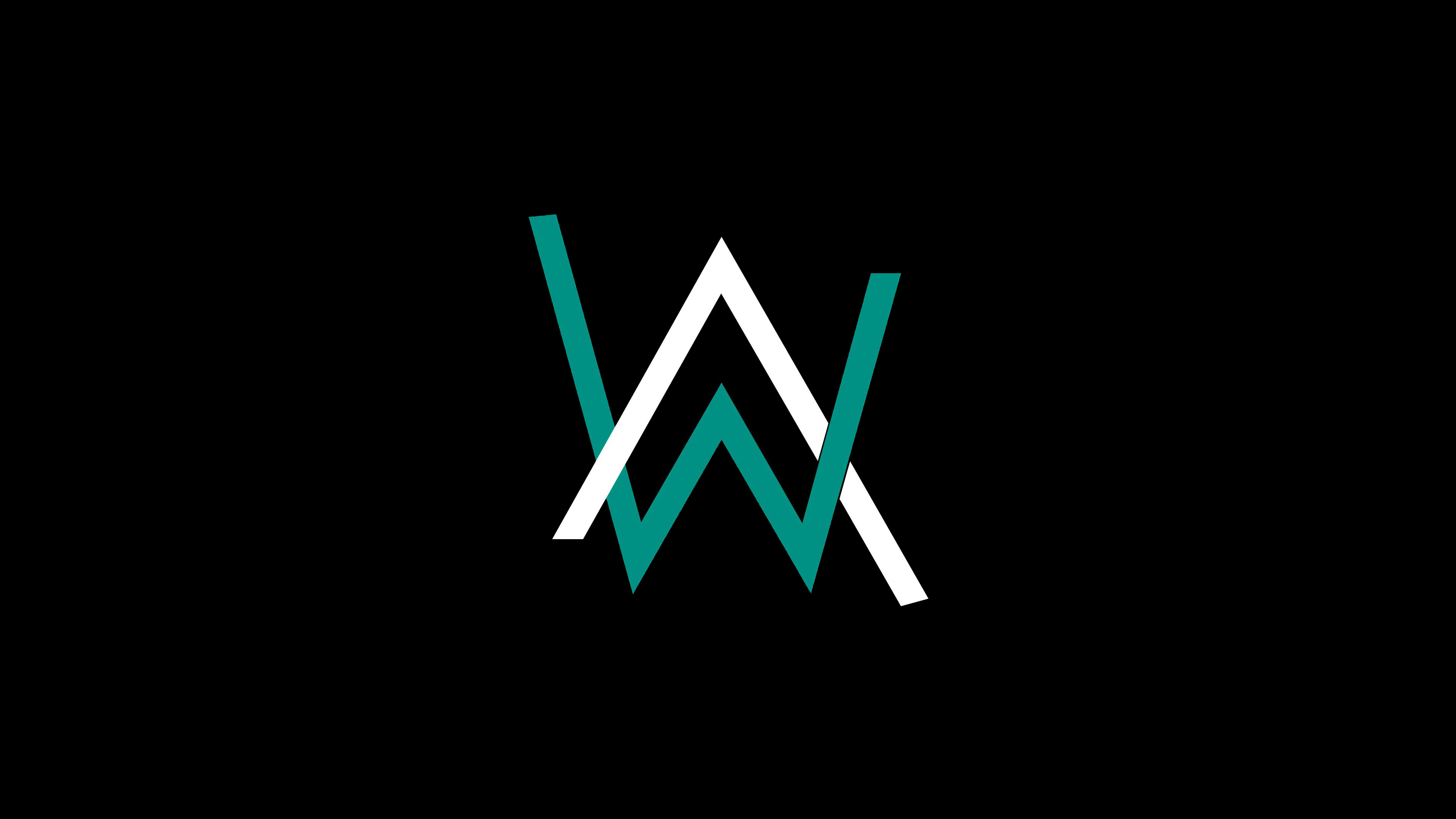 alan walker logo 4k hd music 4k wallpapers images
