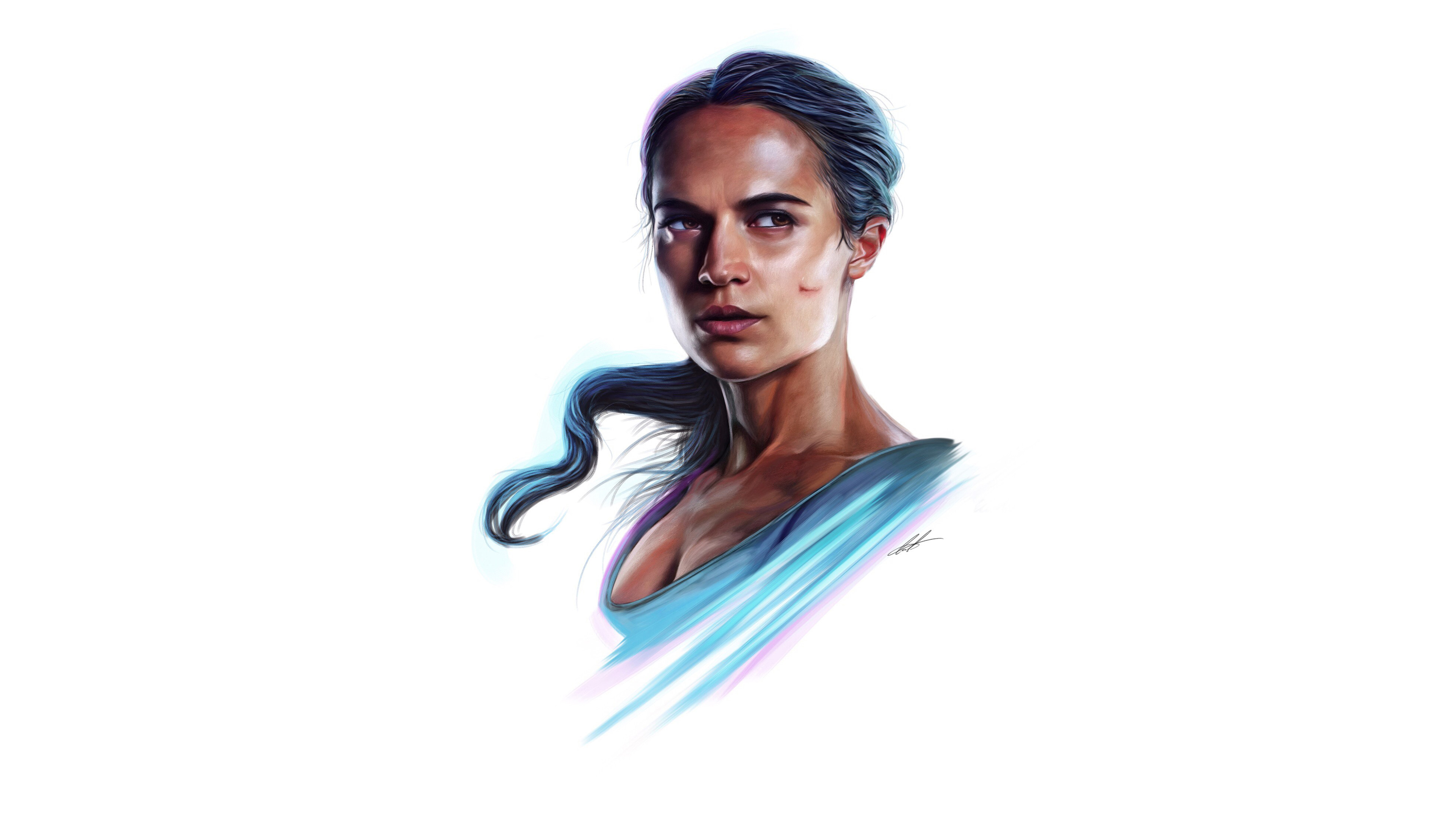 2932x2932 Pubg Android Game 4k Ipad Pro Retina Display Hd: Alicia Vikander Lara Croft 4k, HD Artist, 4k Wallpapers