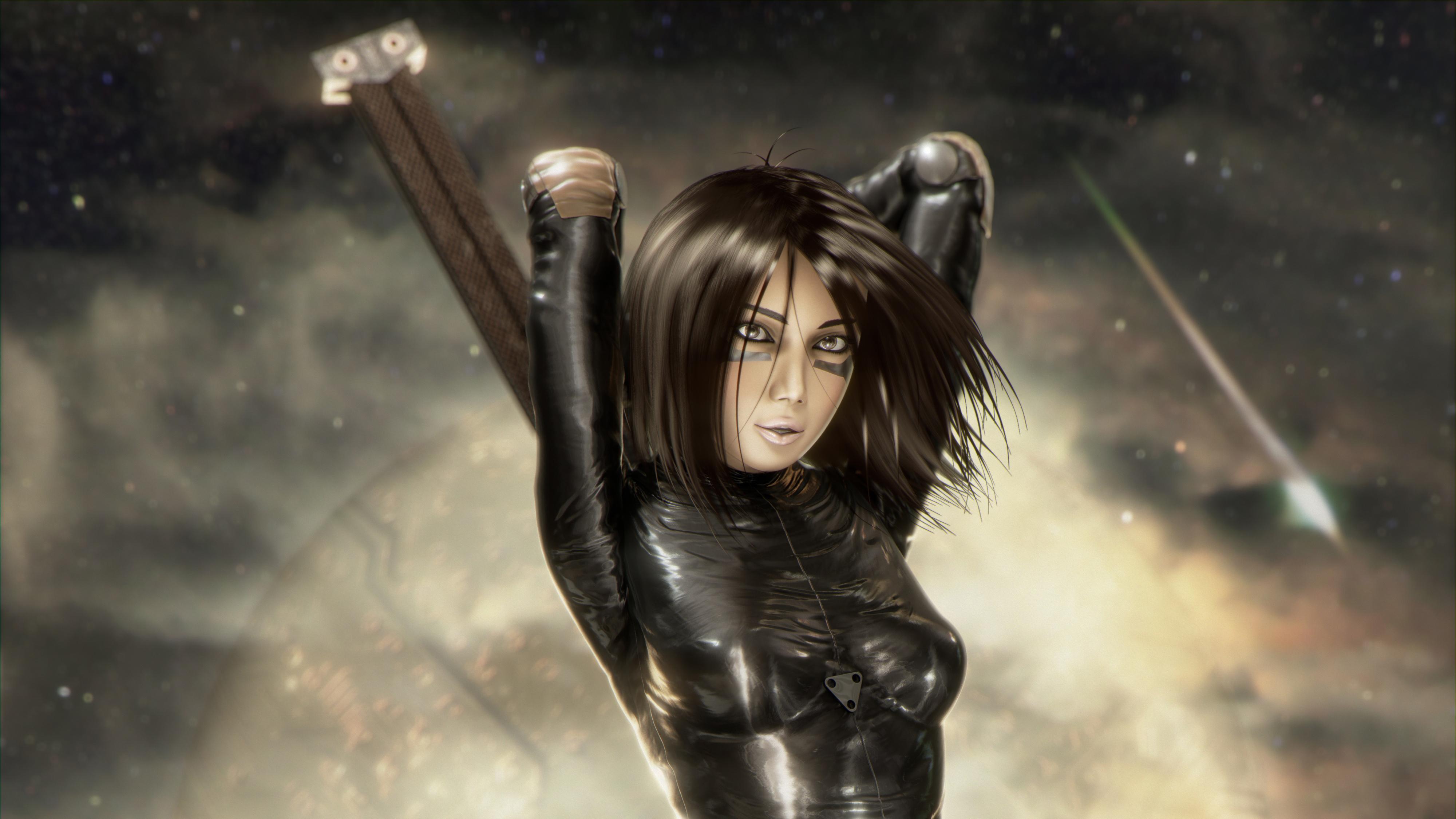 Alita Battle Angel 4k Artwork, HD Artist, 4k Wallpapers ...