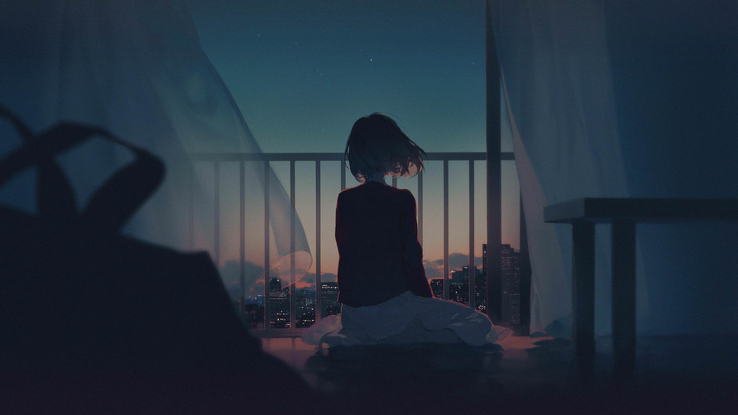 Alone Girl Artwork, Hd Artist, 4K Wallpapers, Images -7729