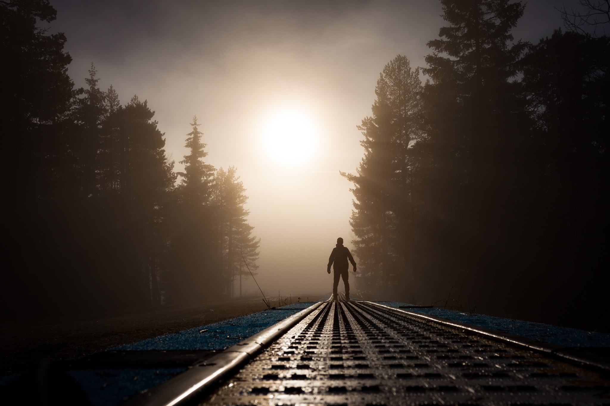 Alone Man Sunrays, HD Photography, 4k Wallpapers, Images