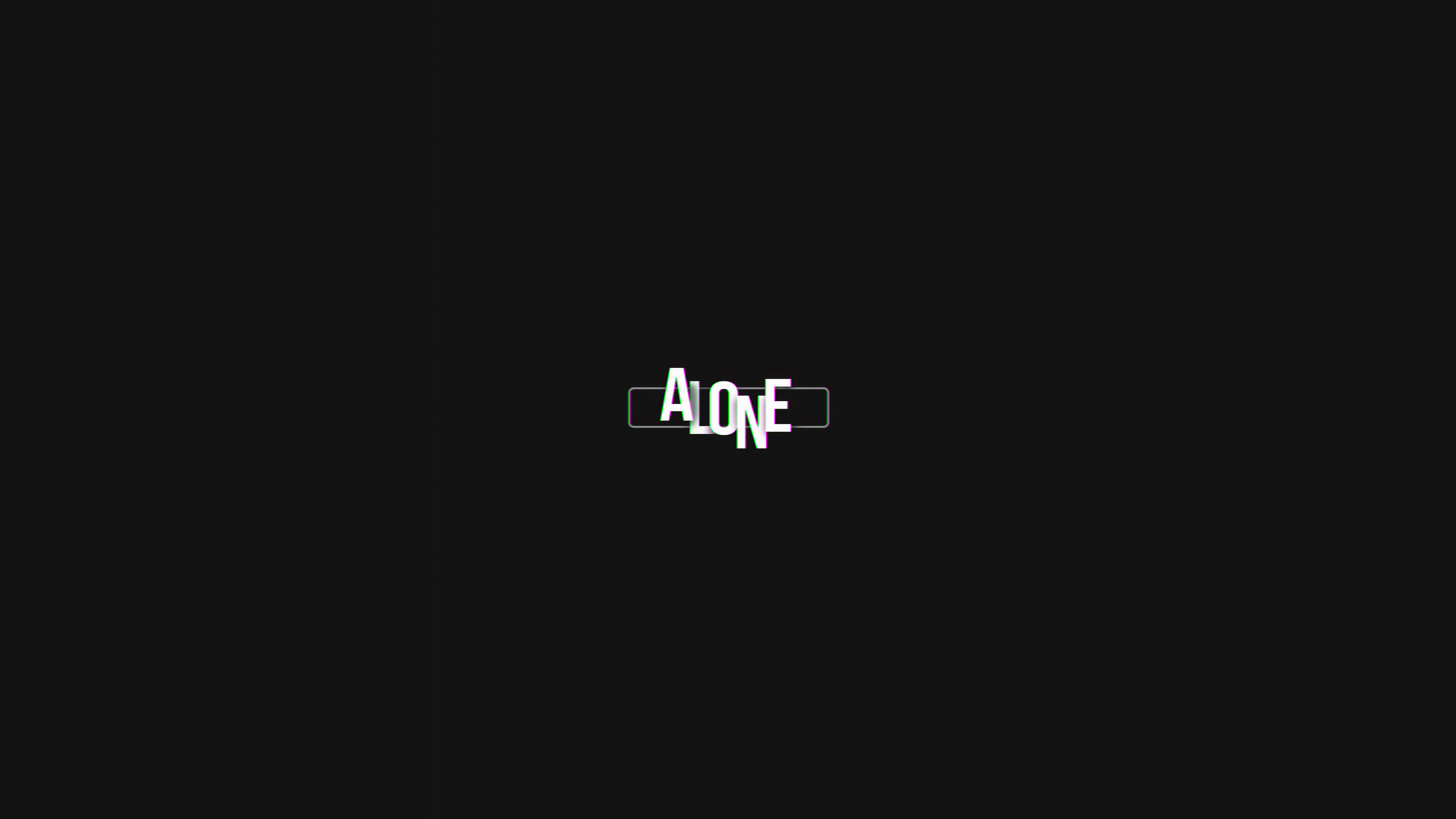 1440x2960 Alone Simple Typography 4k Samsung Galaxy Note 98