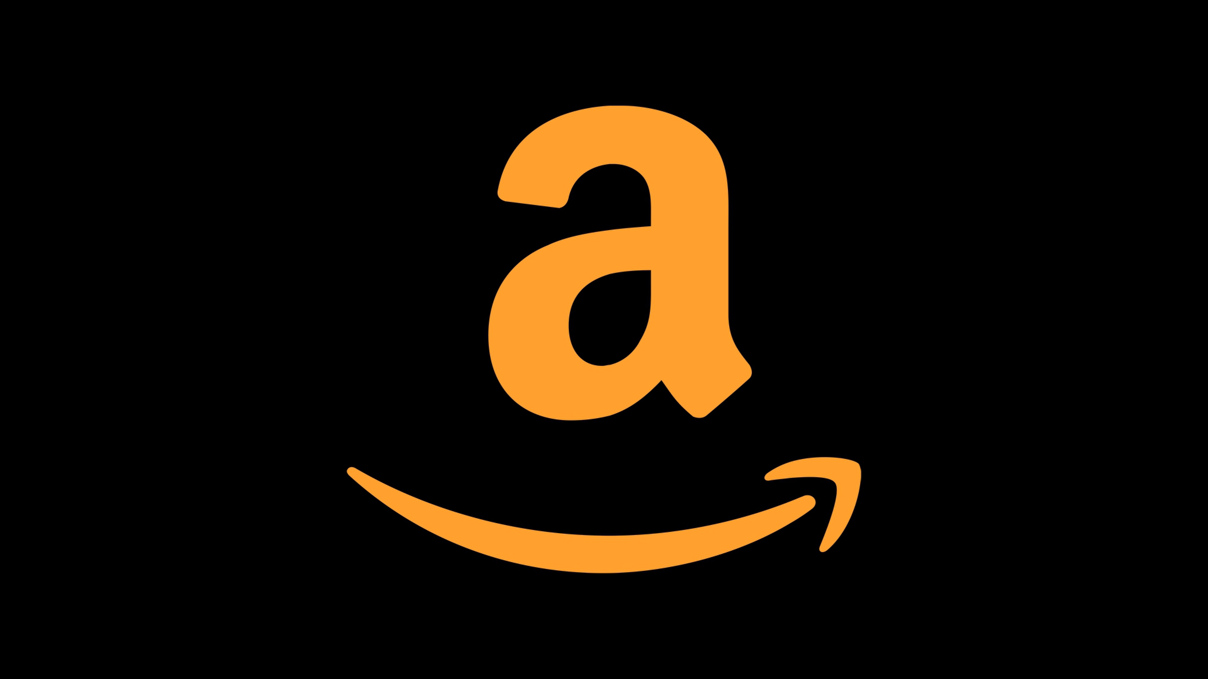 Amazon k Logo HD Logo k Wallpapers Images Backgrounds Photos