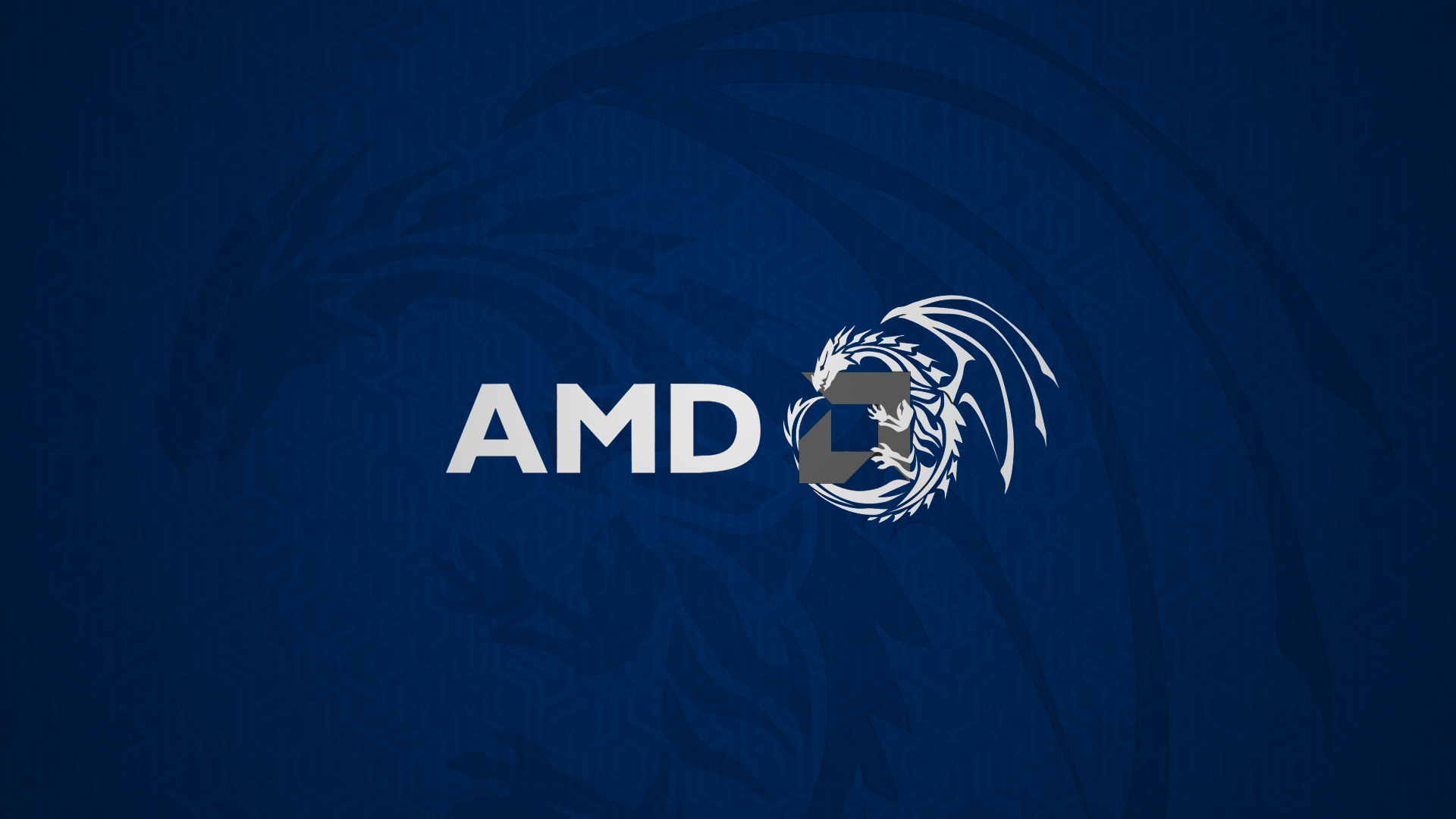 AMD Blue Dragon HD Computer 4k Wallpapers Images Backgrounds