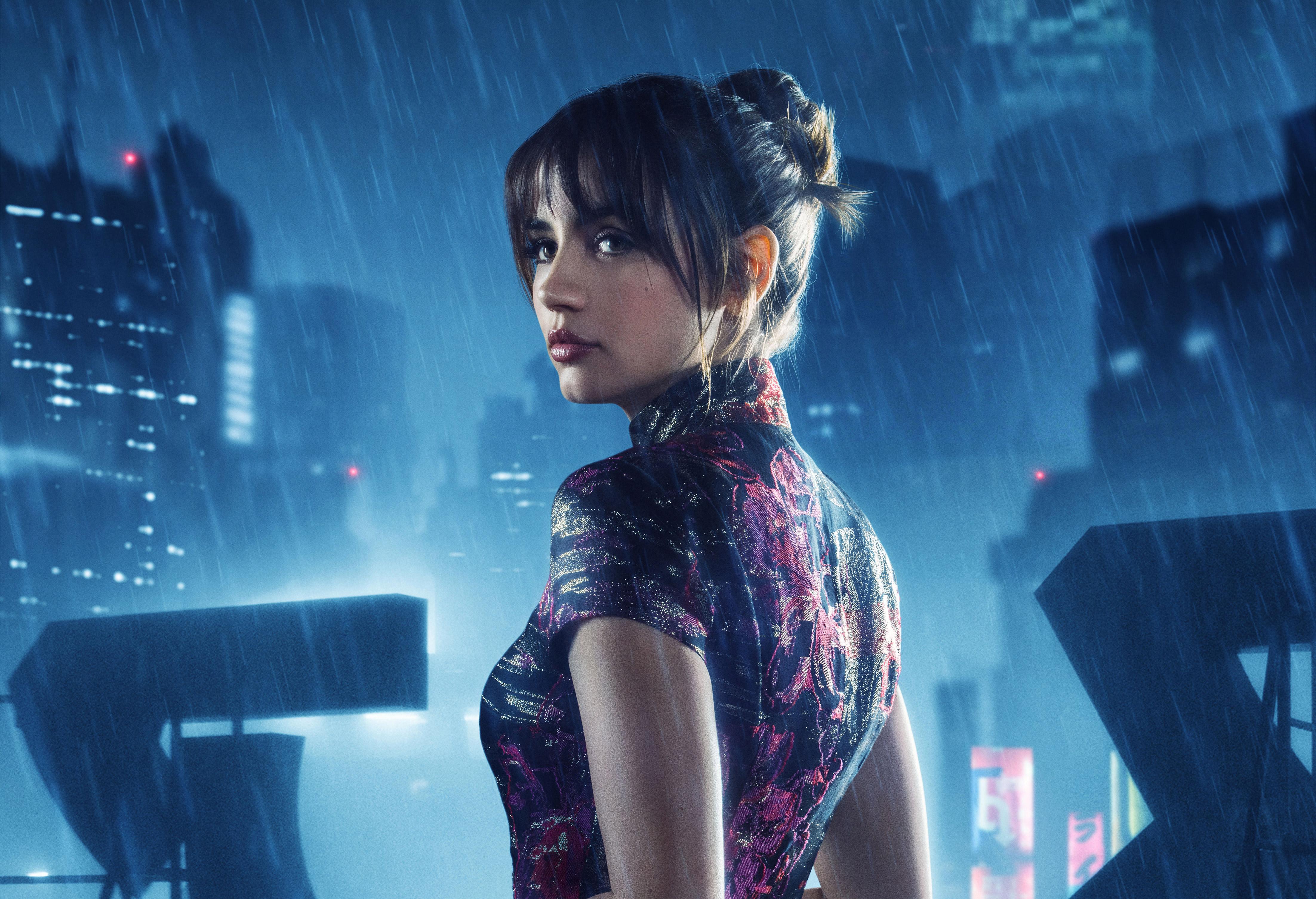 Blade Runner 2049 Hd Wallpaper: 1920x1080 Ana De Armas As Joi In Blade Runner 2049 4k