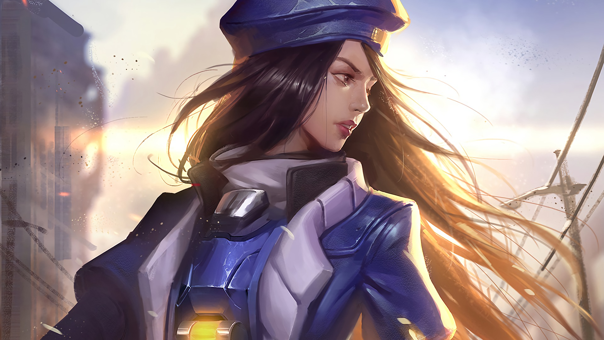 Ana overwatch artwork hd games 4k wallpapers images - Ana wallpaper ...