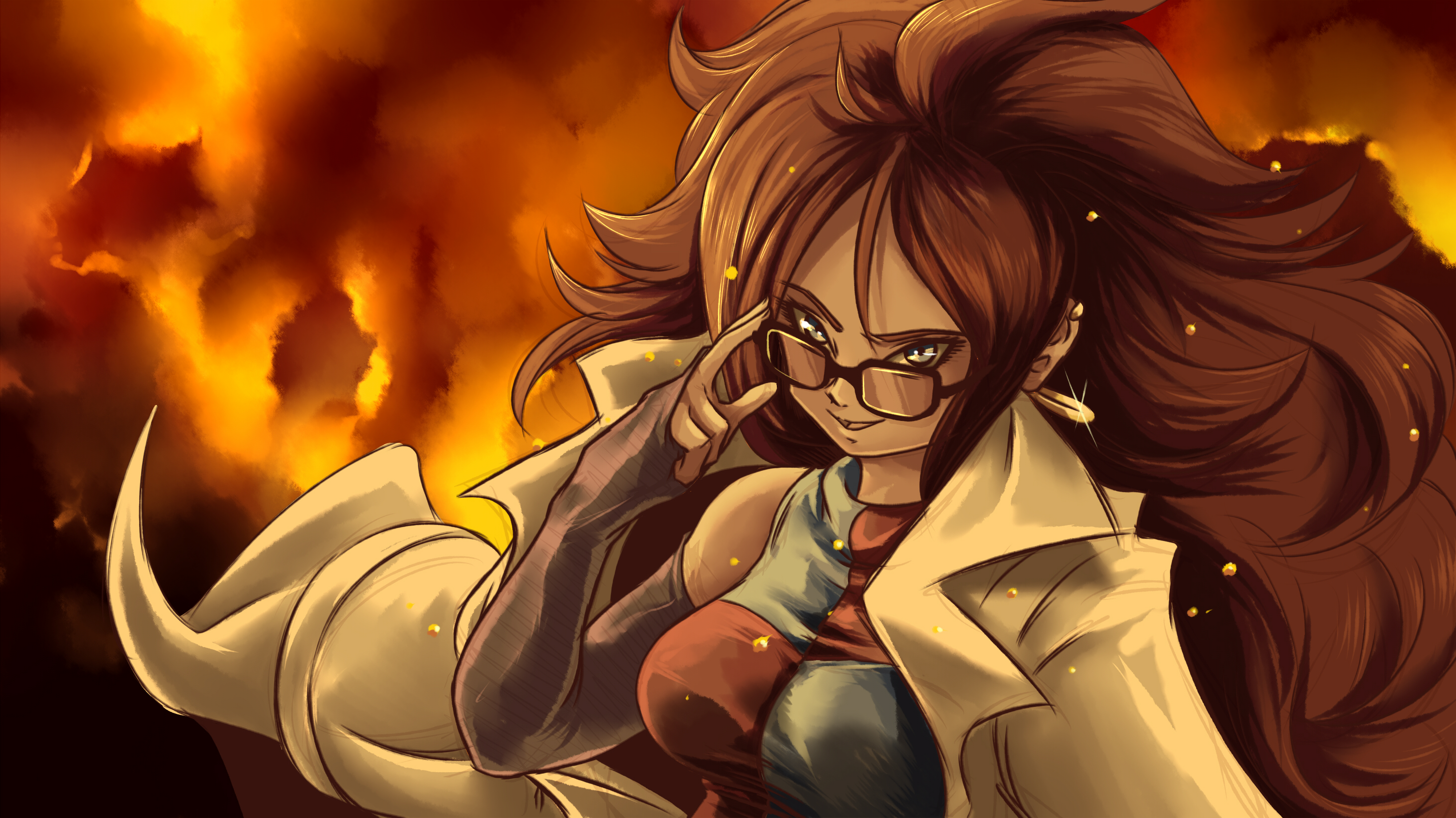 Android 21 dragon ball fighterz hd games 4k wallpapers - Free dragonfly wallpaper for android ...