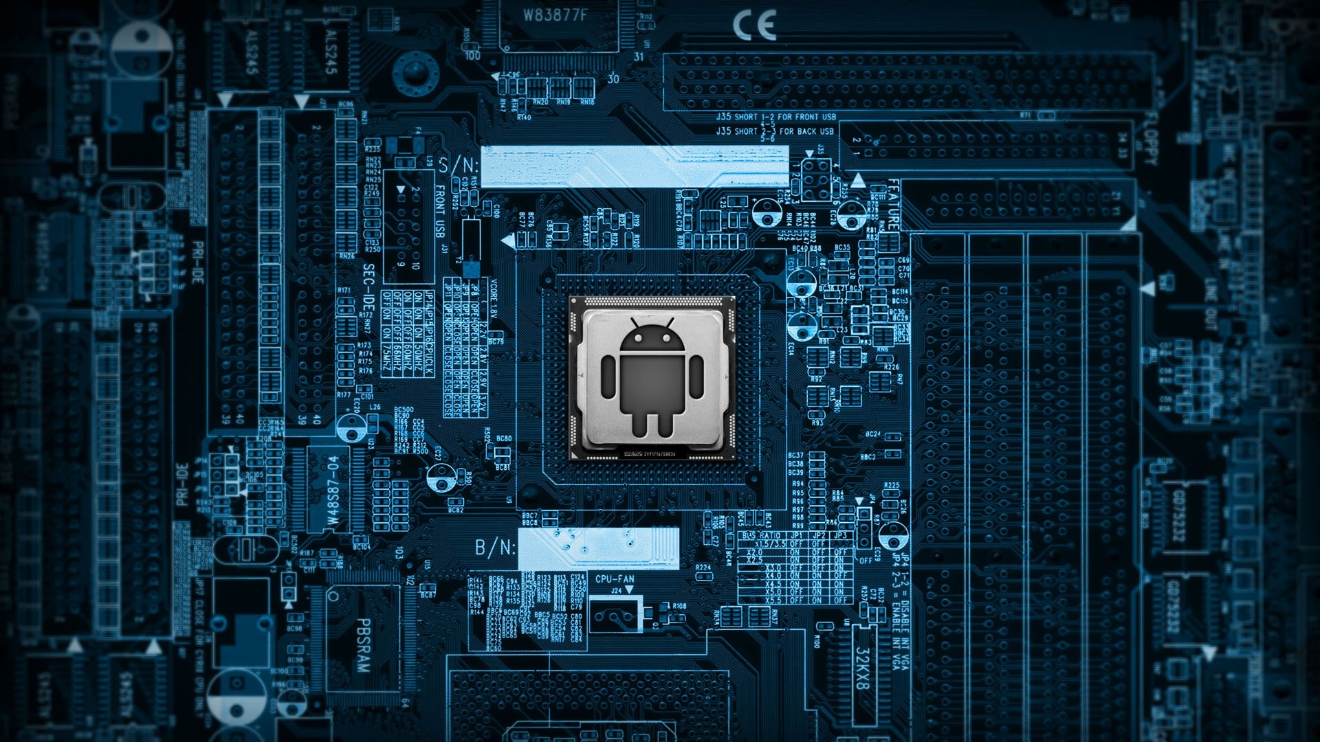 Android Circuit Board Hd Computer 4k Wallpapers Images