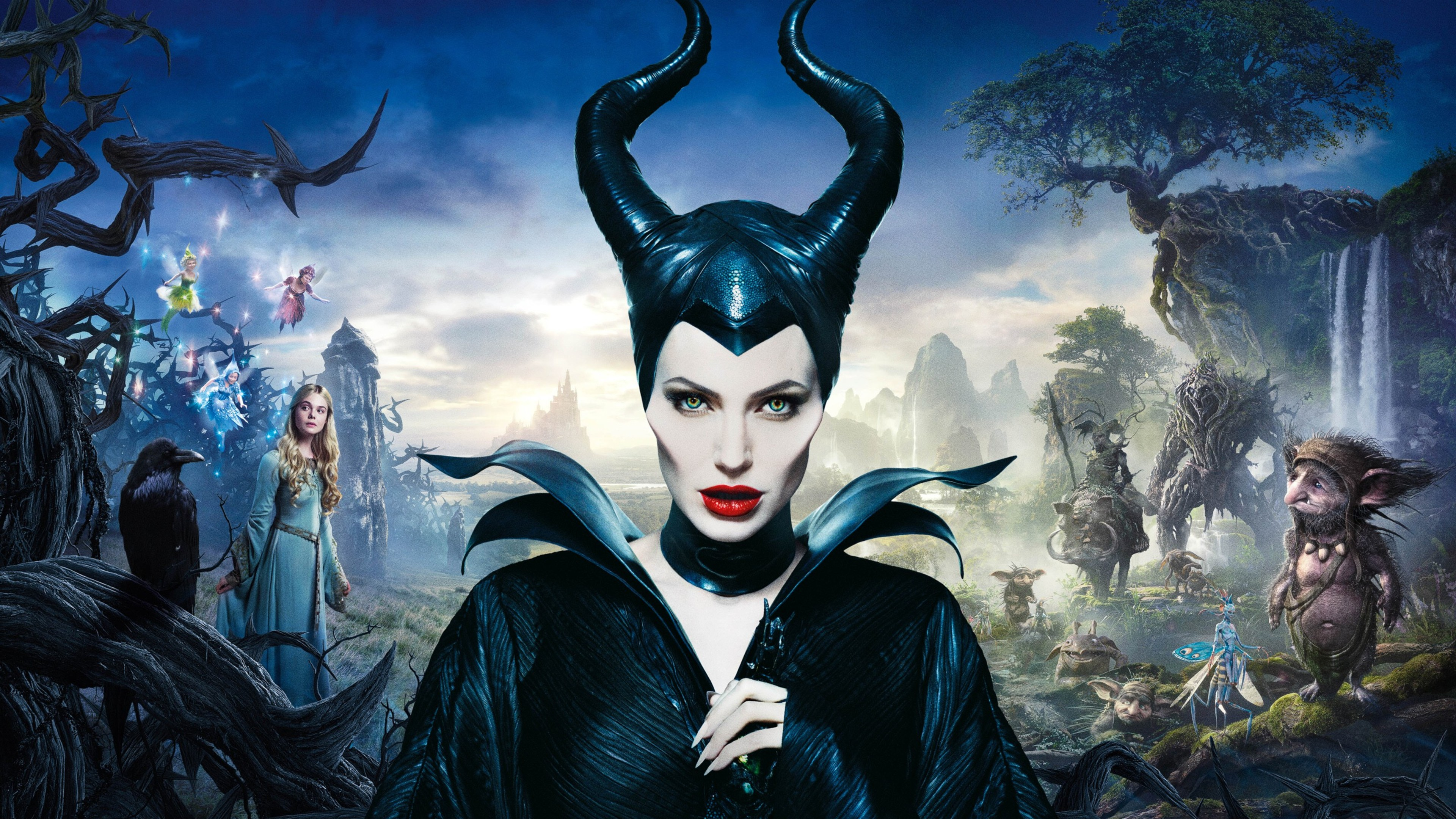 Angelina Jolie In Maleficent Movie Hd Movies 4k Wallpapers