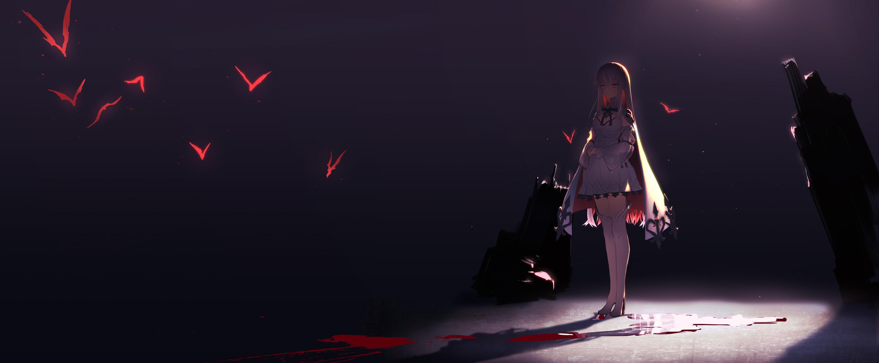 Anime Girl Devil Eyes, HD Anime, 4k Wallpapers, Images ...