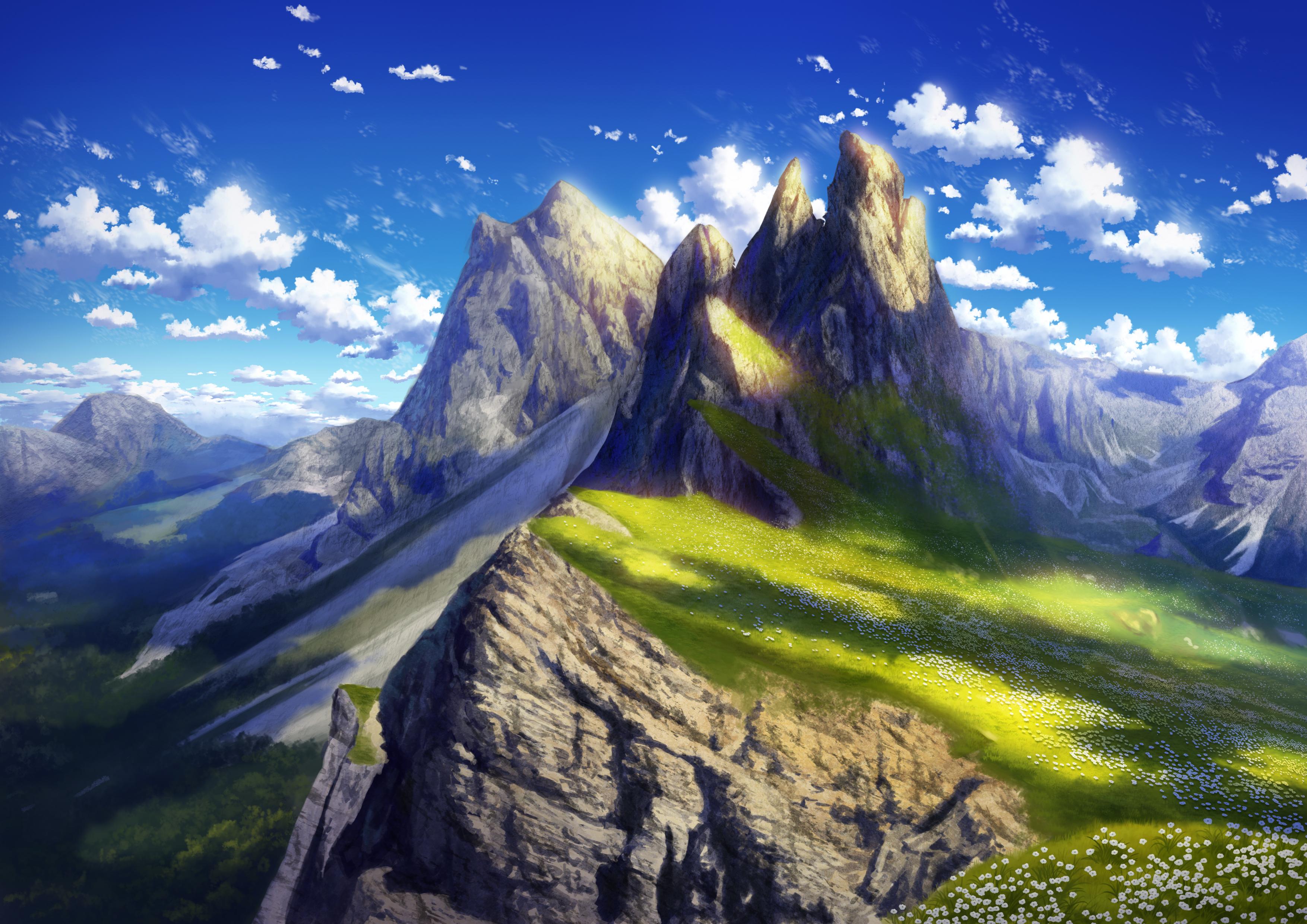 Anime Landscape 4k, HD Anime, 4k Wallpapers, Images ...