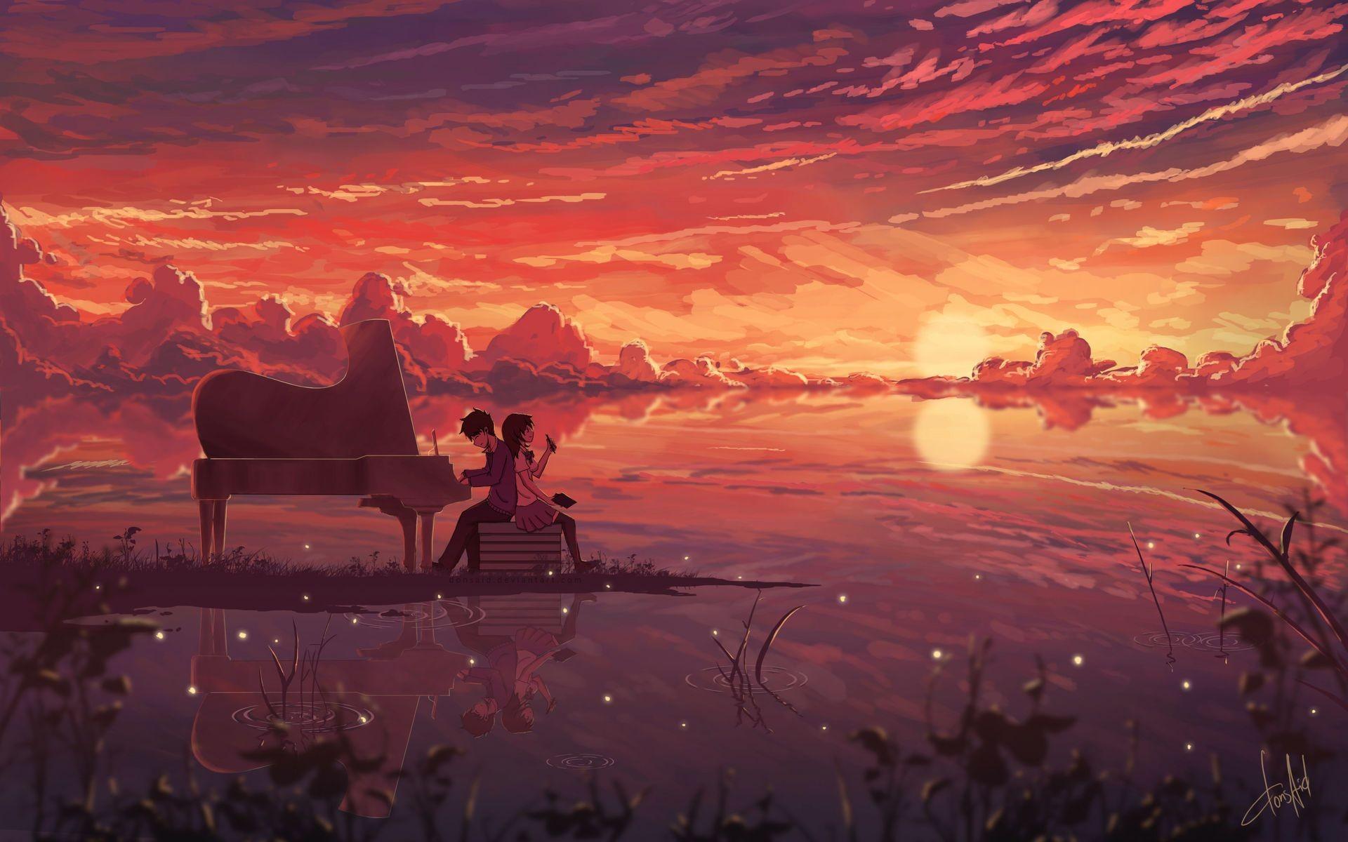 anime love digital art | anime hd 4k wallpapers