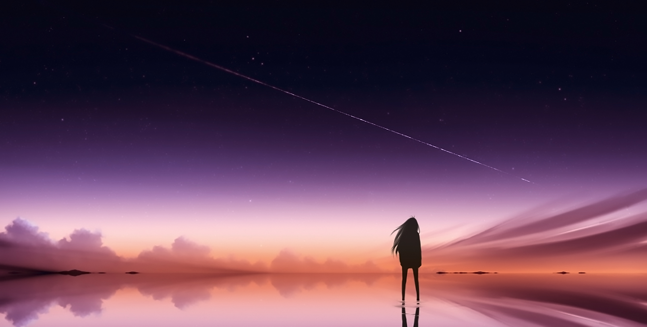Anime Alone Wallpaper Hd