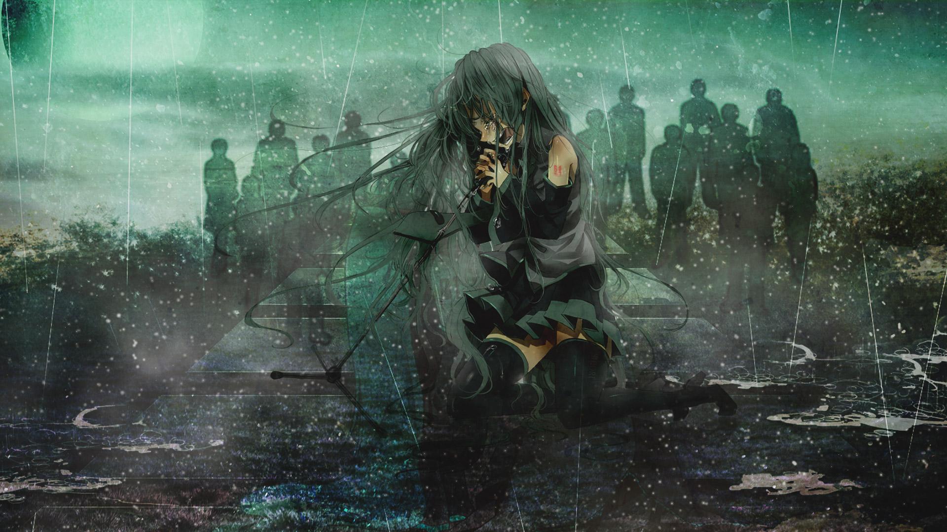 Anime Vocaloid Hatsune Miku, HD Anime, 4k Wallpapers ...