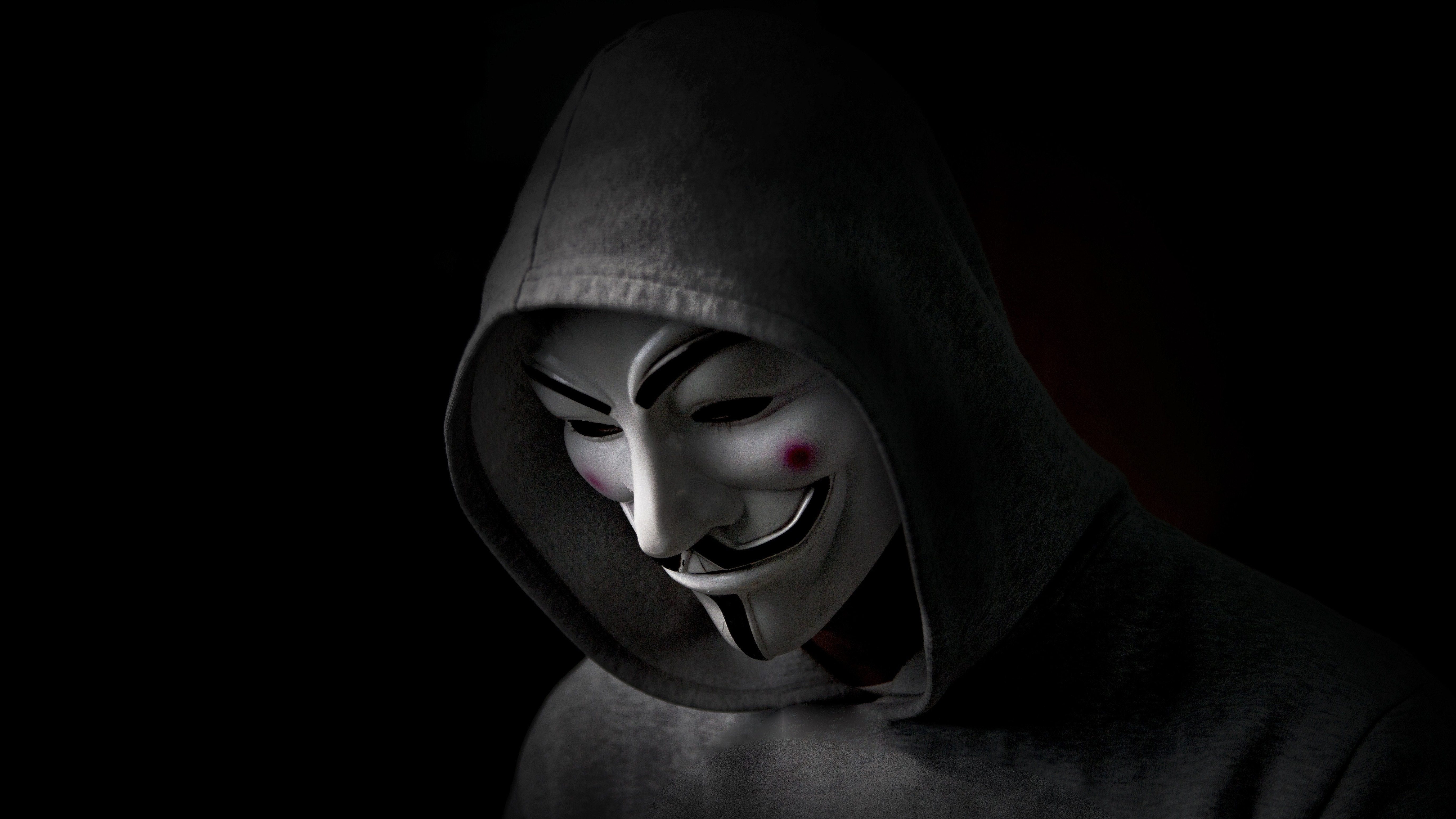 hacker hoodie anonymus wallpapers 4k computer backgrounds