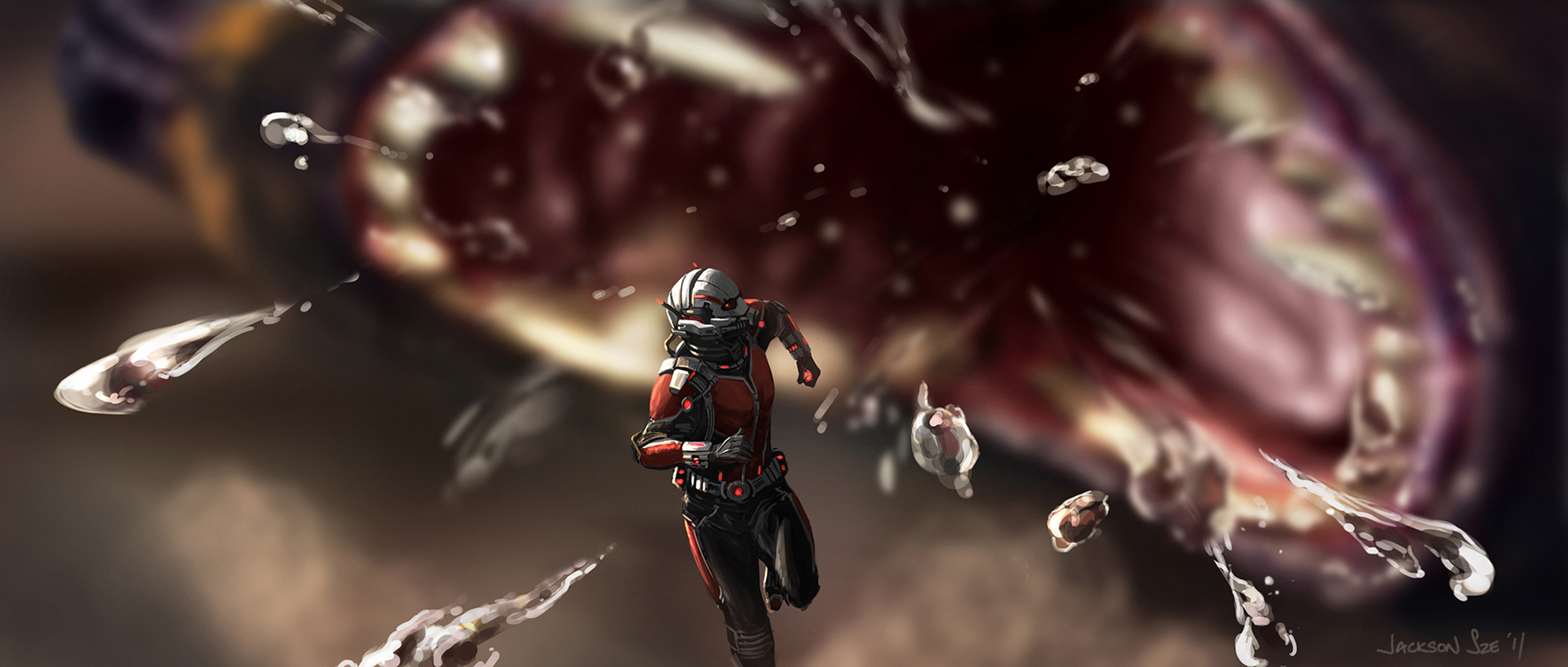 Ant Man And The Wasp Wallpaper: Ant Man And The Wasp Art, HD Superheroes, 4k Wallpapers