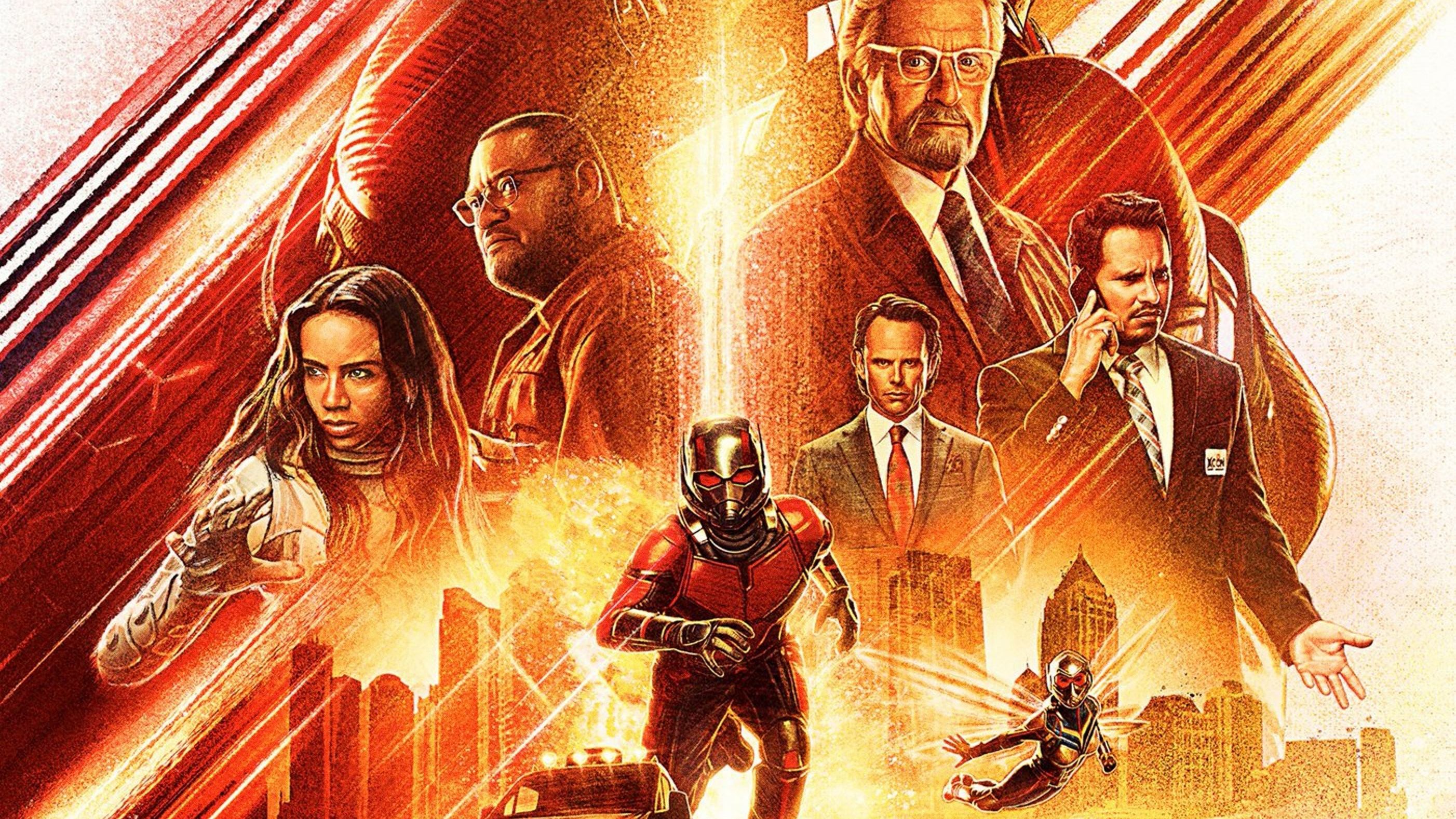 Ant Man And The Wasp Wallpaper: Ant Man And The Wasp Movie International Poster, HD Movies