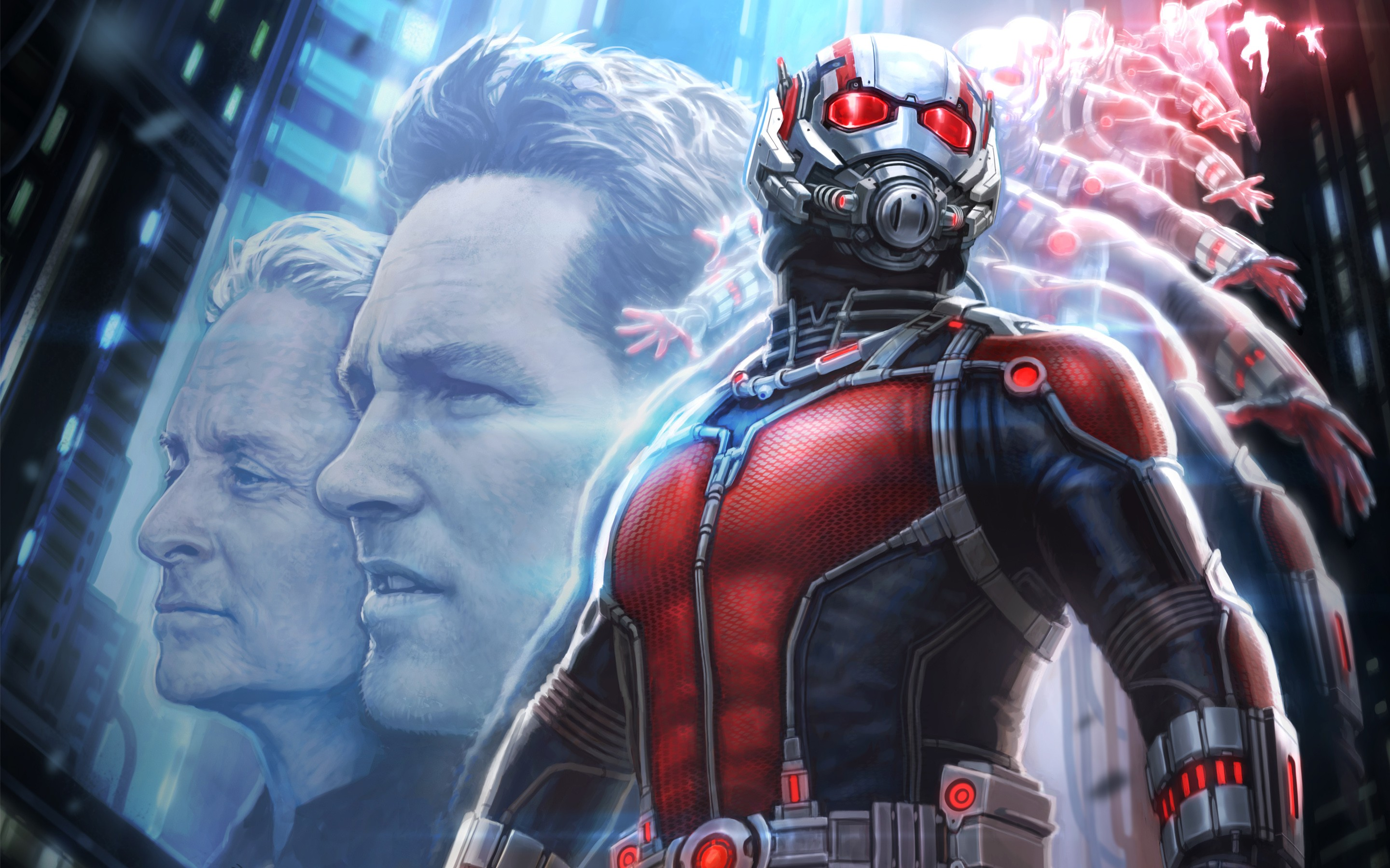 Ant Man Retina Movie Wallpaper: Ant Man Artwork Wide, HD Movies, 4k Wallpapers, Images
