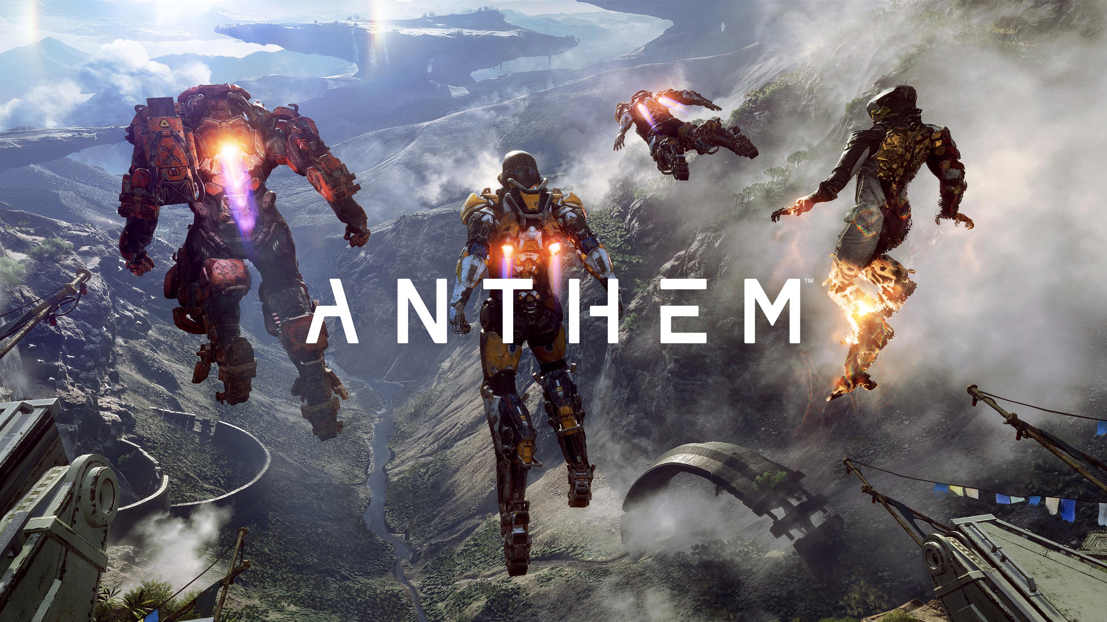 anthem games hd 4k wallpapers