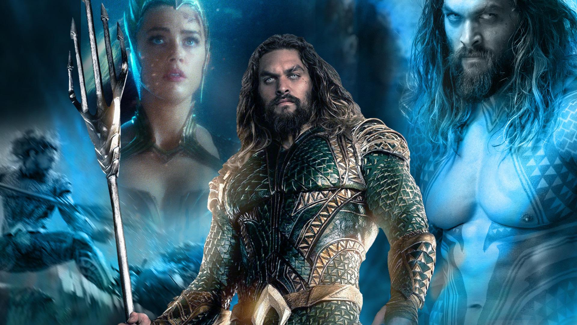 Aquaman 2018 movie poster hd movies 4k wallpapers - Movie poster wallpaper ...