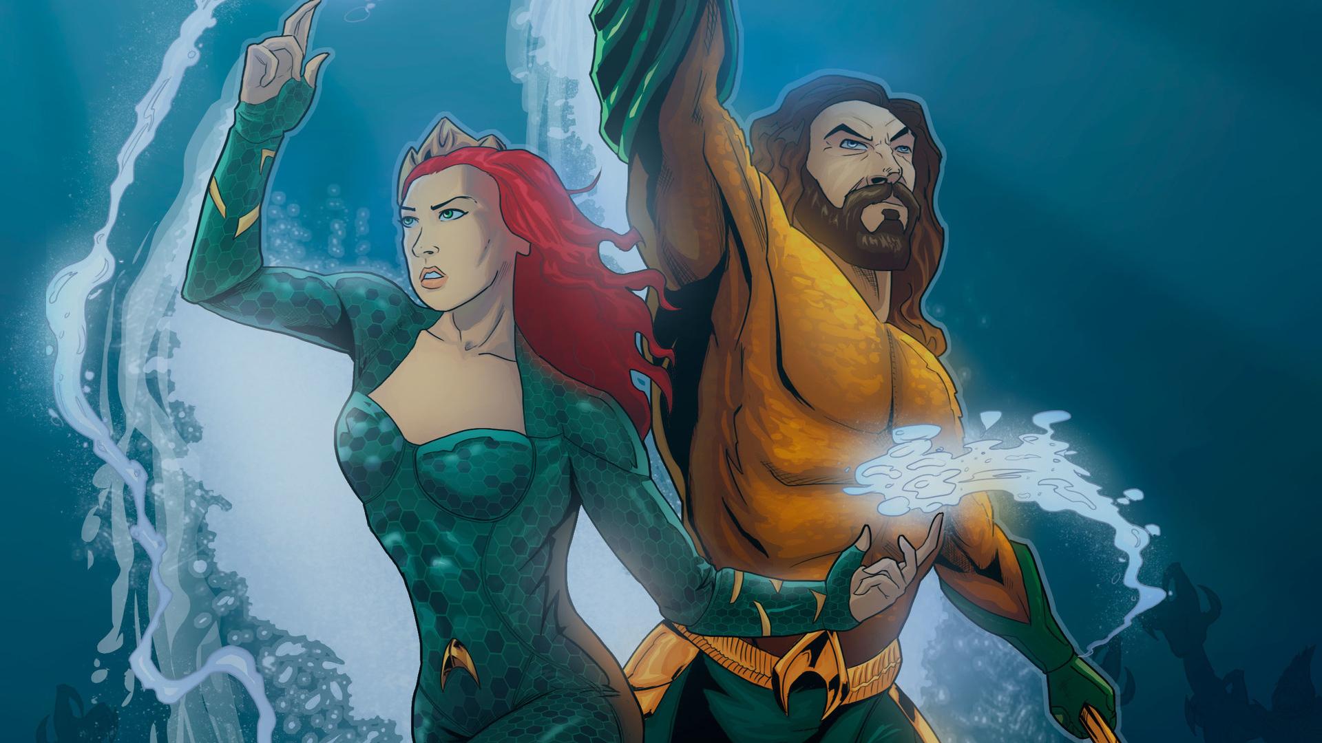 2048x1152 Aquaman And Mera 2048x1152 Resolution Hd 4k Wallpapers