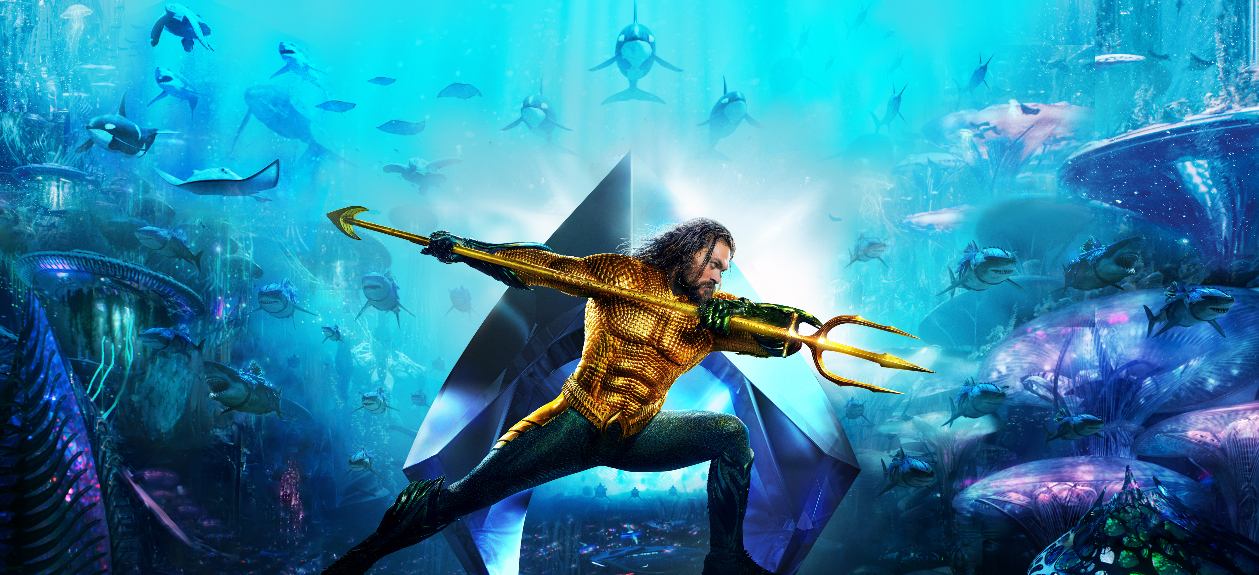 Movie Poster 2019: 3840x2160 Aquaman Movie New Poster 2018 4k HD 4k