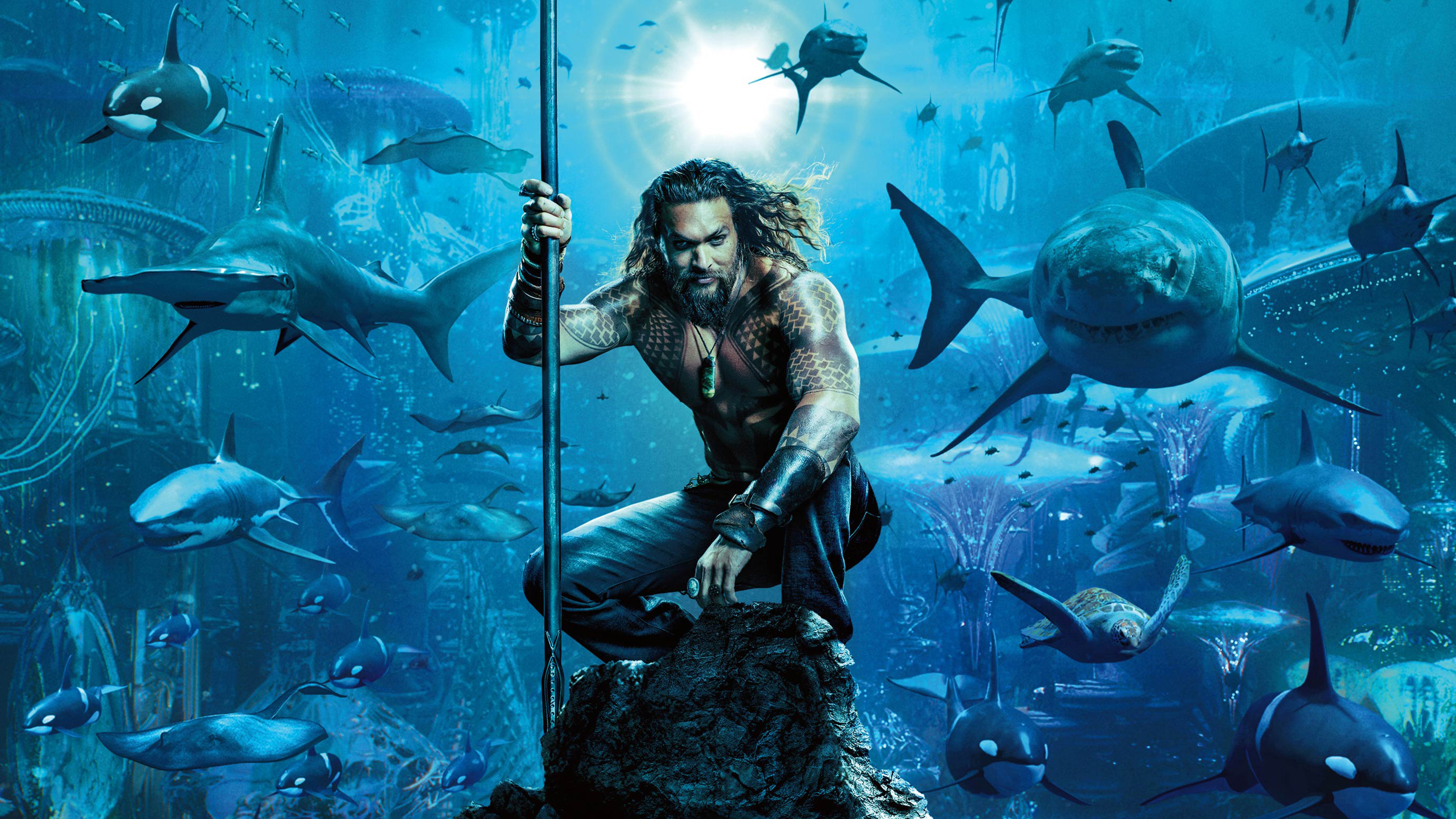 2018 Movie Posters: Aquaman Movie Poster 2018, HD Movies, 4k Wallpapers