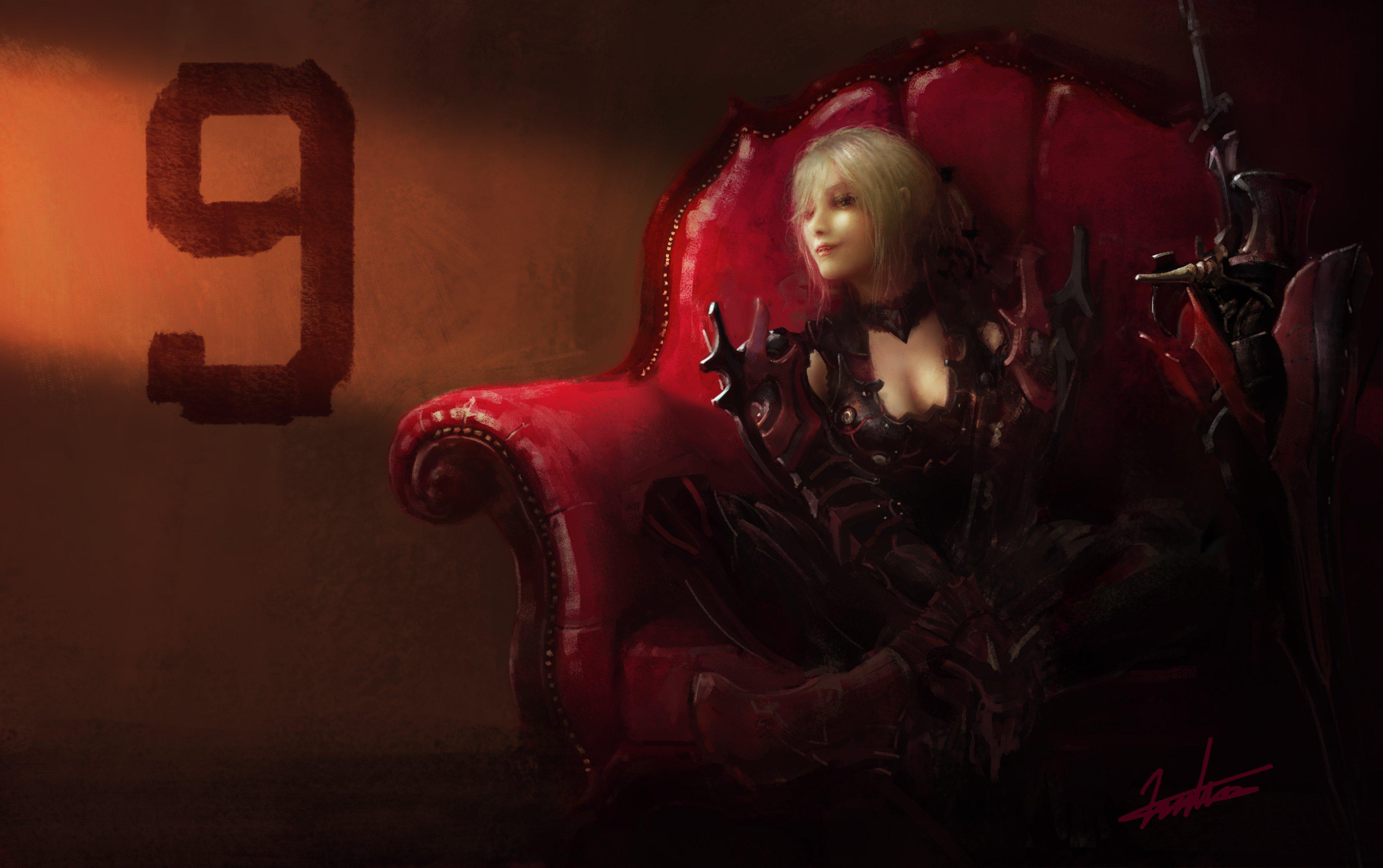 2048x1152 aranea highwind final fantasy xv artwork 2048x1152