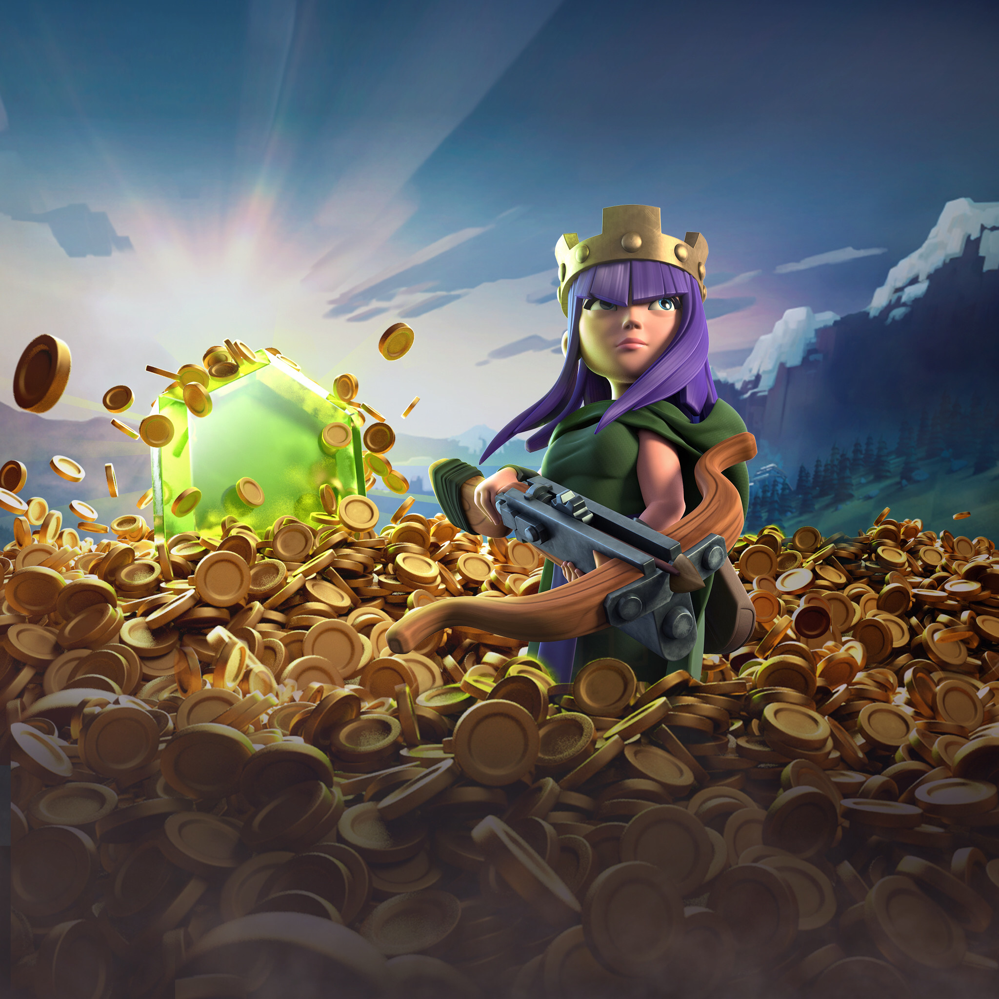 Wallpapers Games: Archer Queen Clash Of Clans, HD Games, 4k Wallpapers
